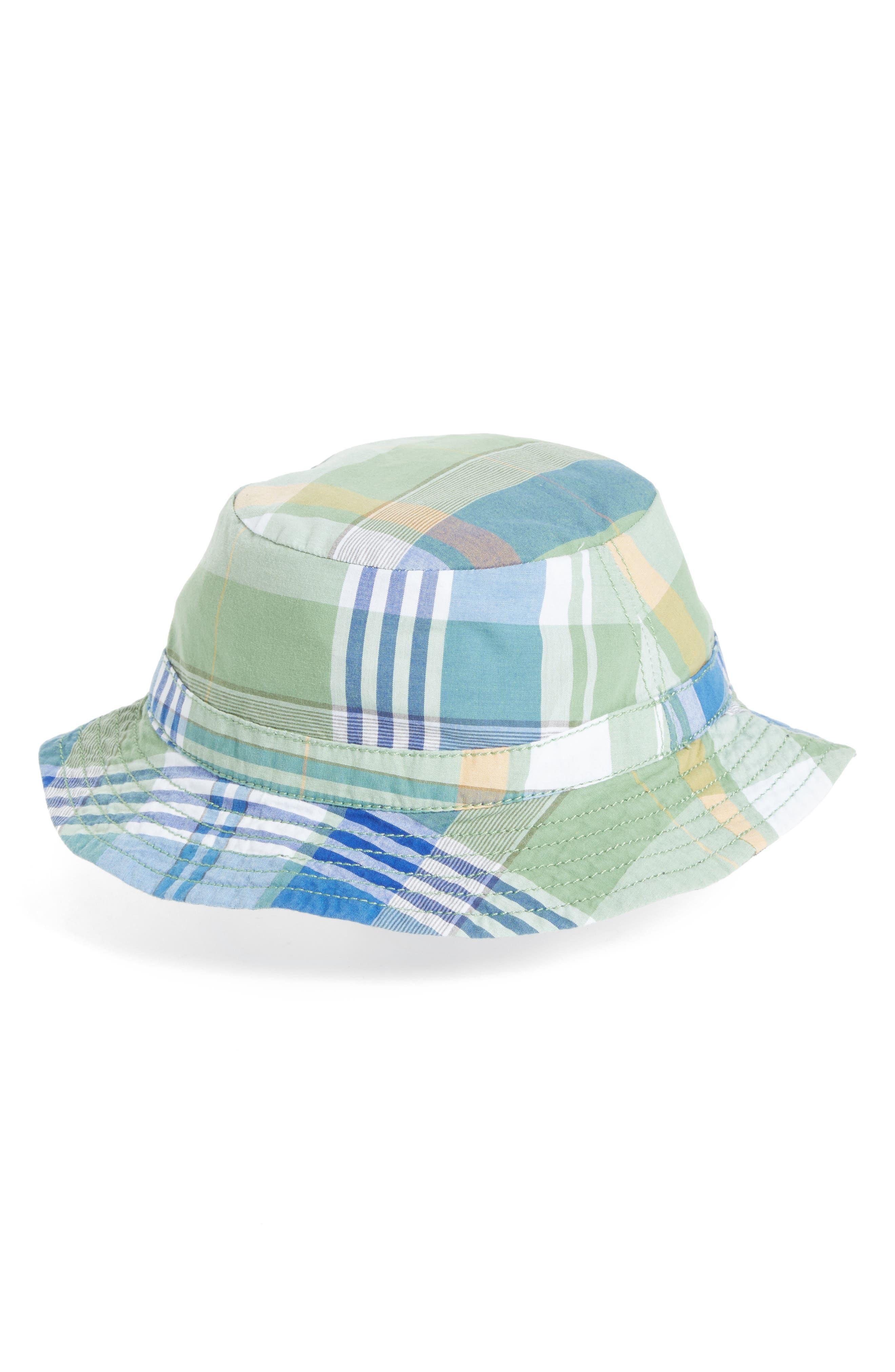 Main Image - Tucker + Tate Reversible Bucket Hat (Baby Boys)