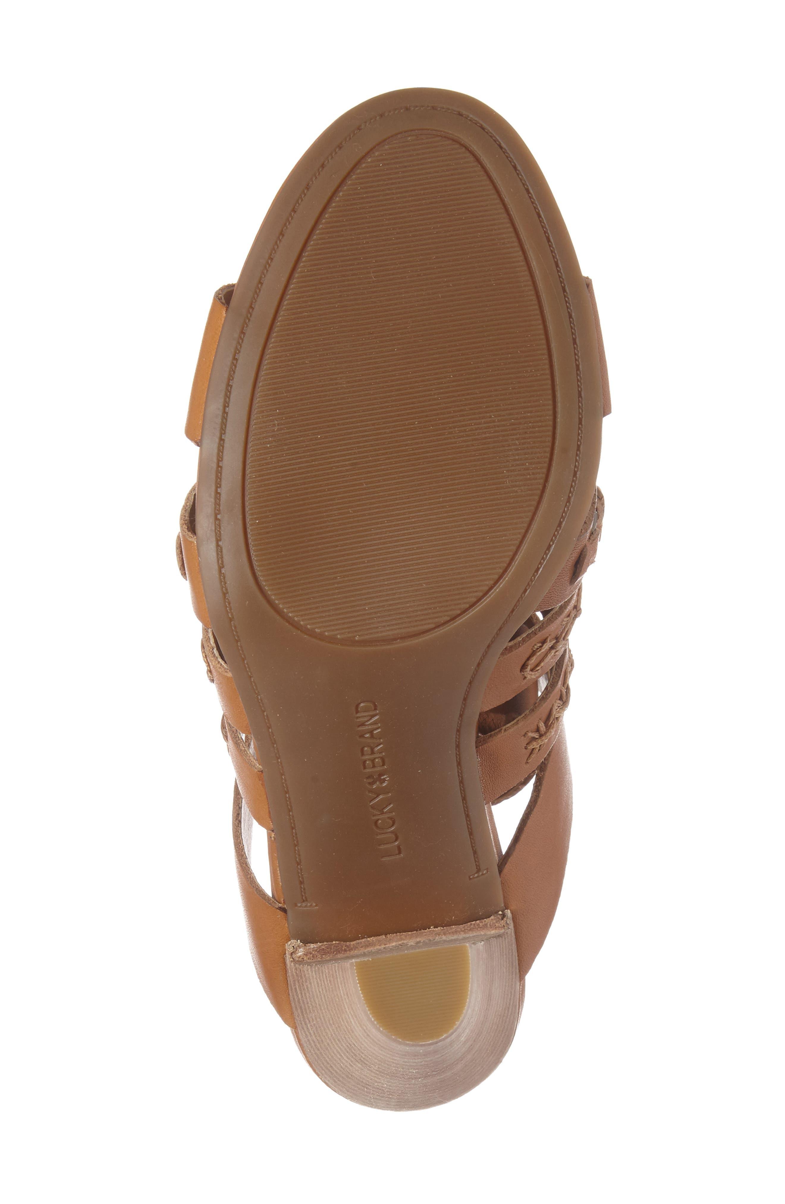Alternate Image 4  - Lucky Brand Radfas Lace-Up Sandal (Women)