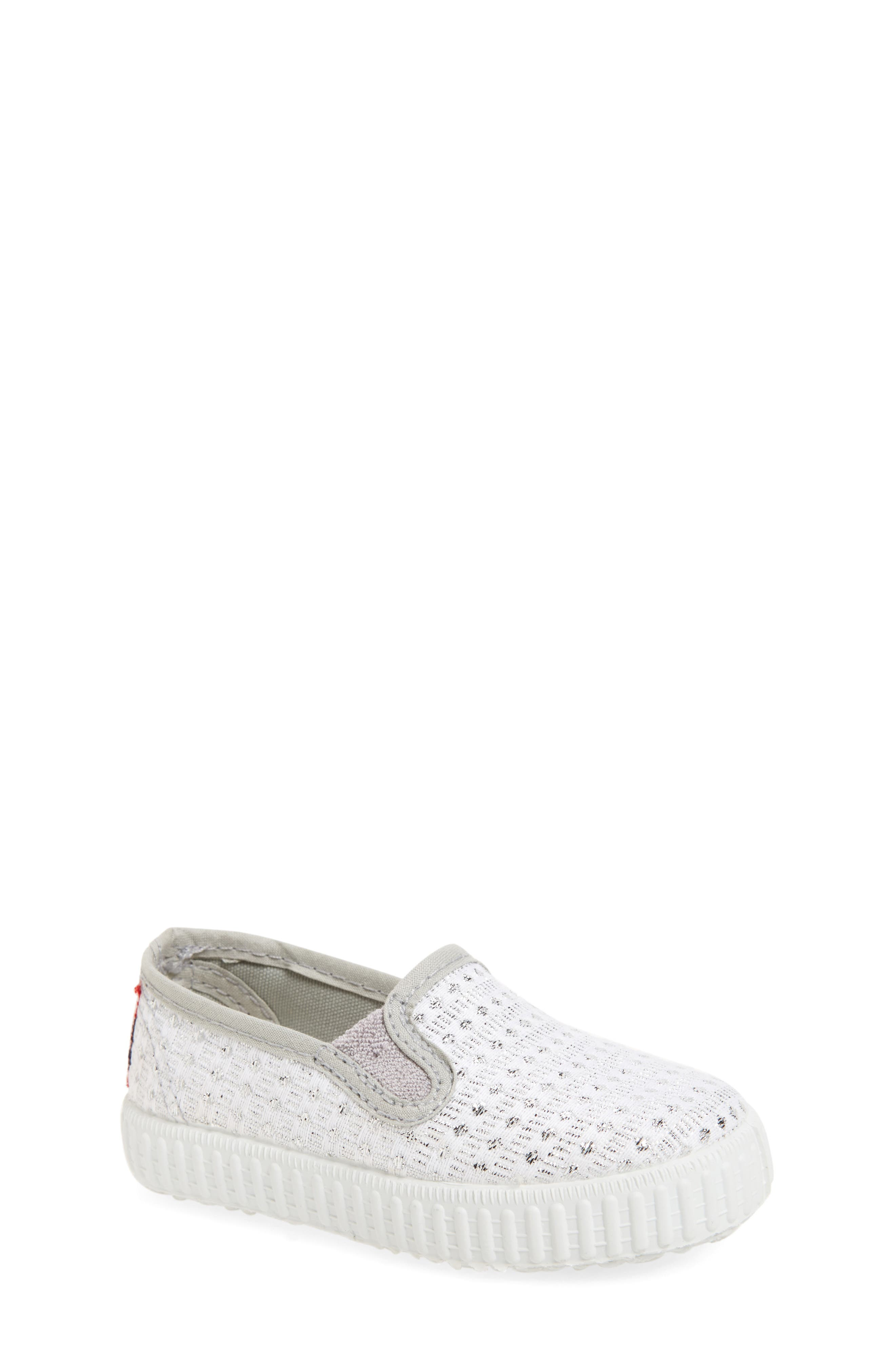 Alternate Image 1 Selected - Cienta Slip-On Sneaker (Walker & Toddler)
