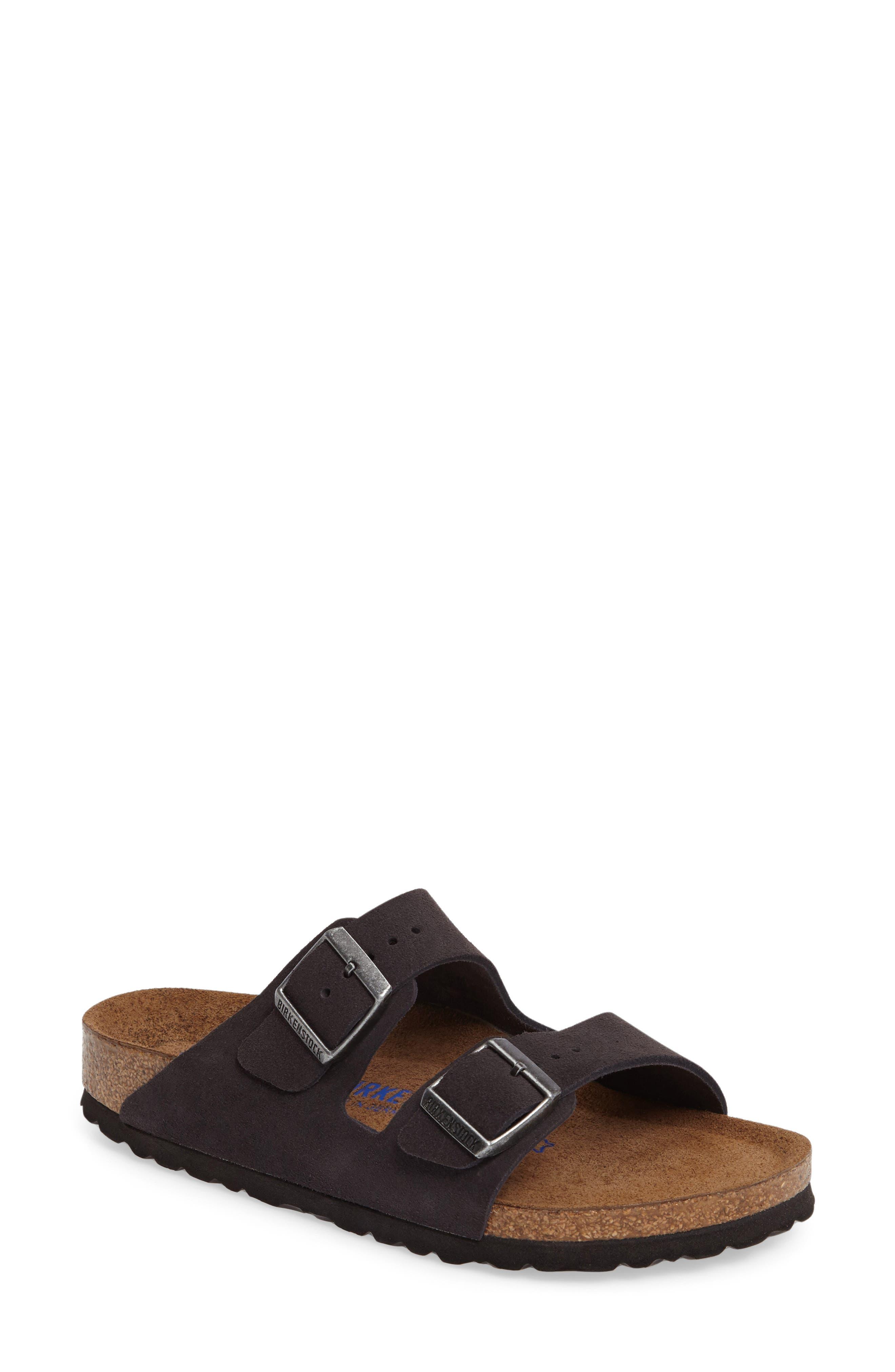 Main Image - Birkenstock 'Arizona' Soft Footbed Sandal (Women)