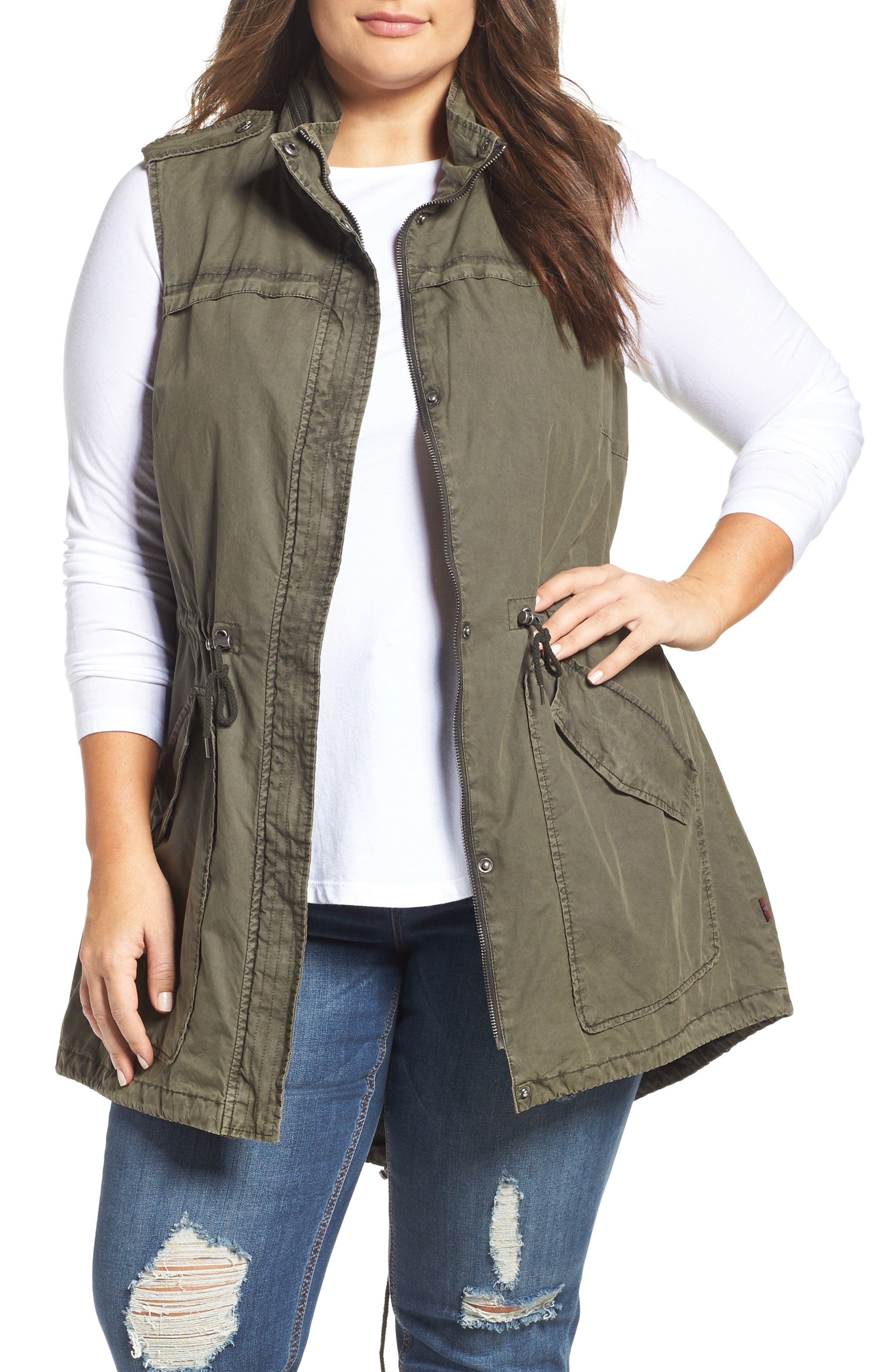 Levi's® Parachute Cotton Vest (Plus Size)