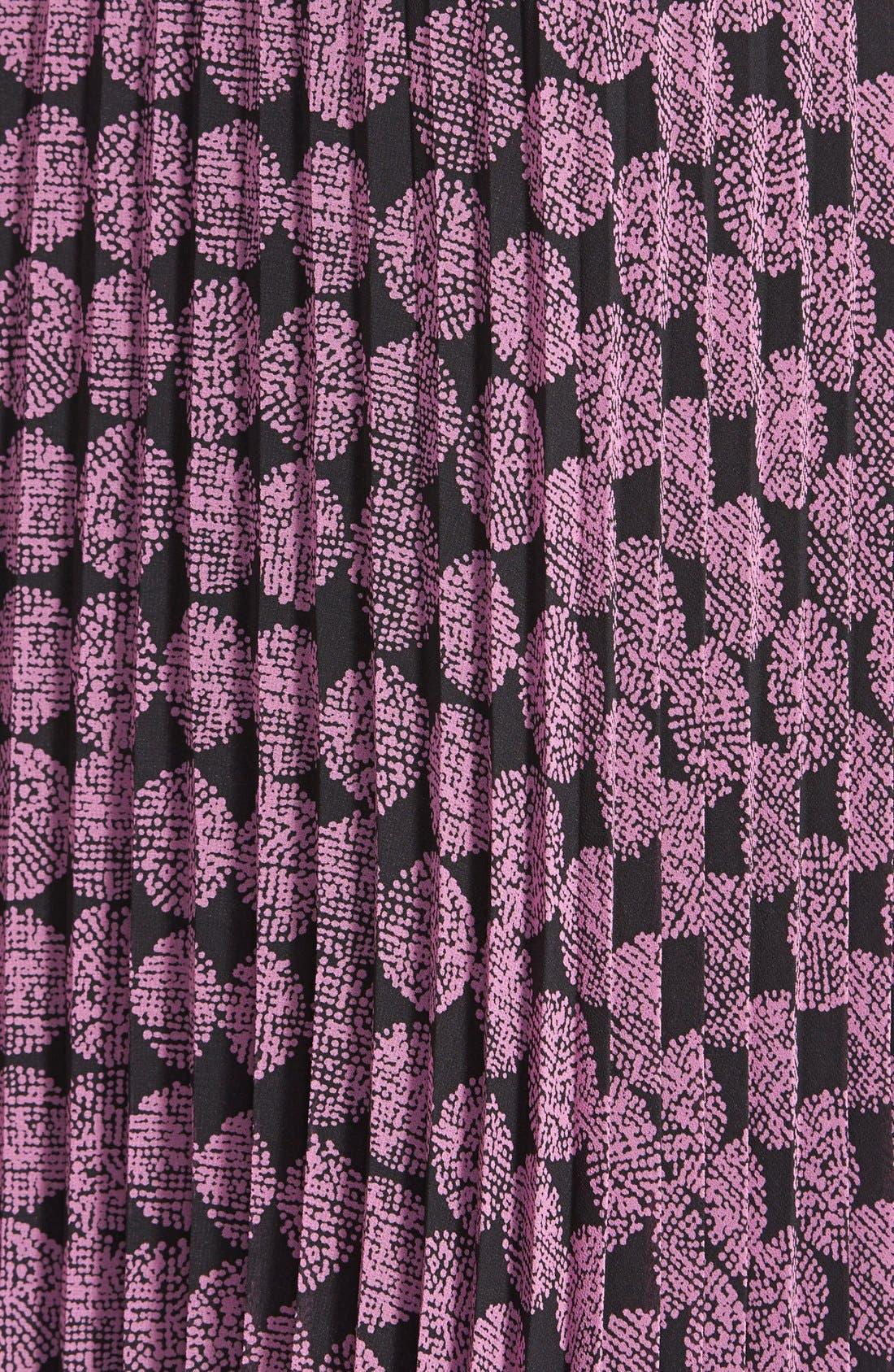 Alternate Image 3  - Halogen® Pleat Midi Skirt (Regular & Petite)
