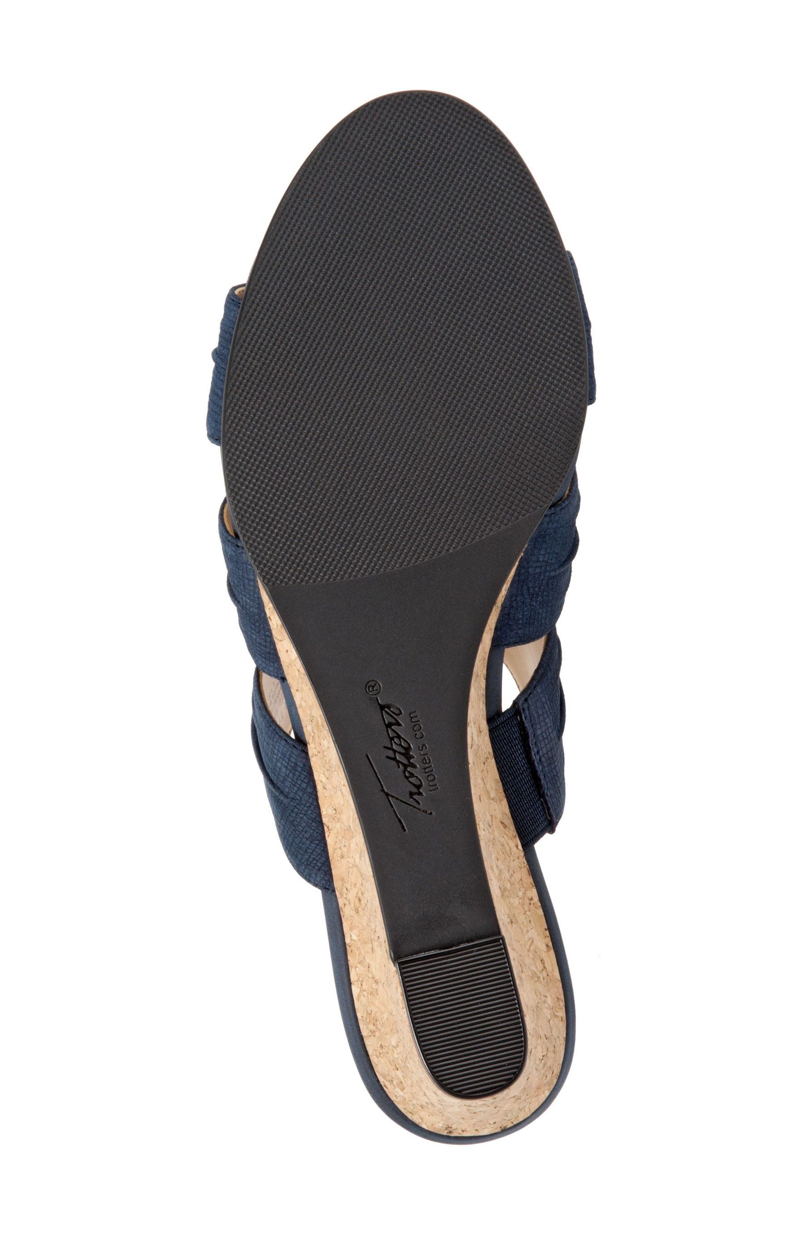 Alternate Image 4  - Trotters Mia Wedge Sandal (Women)