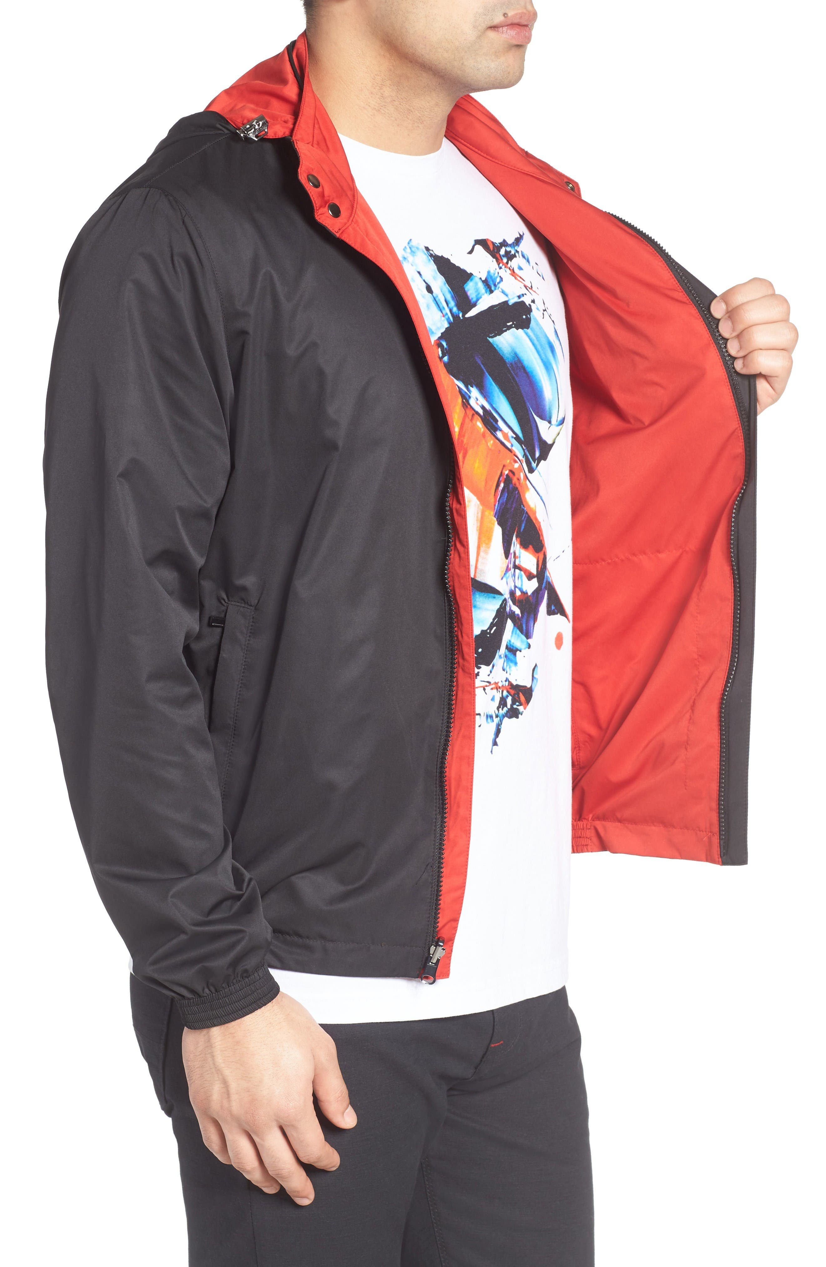 Alternate Image 3  - Bugatchi Reversible Jacket