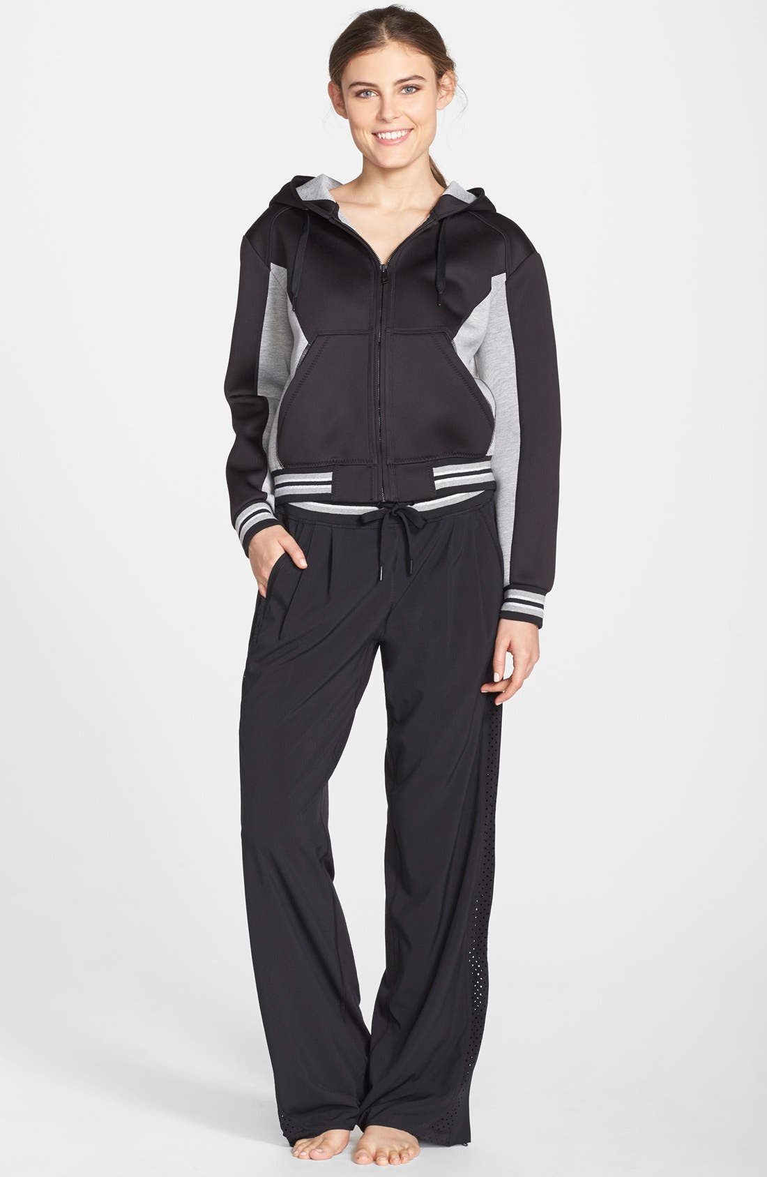 Alternate Image 3  - Zella Side Zip Track Pants