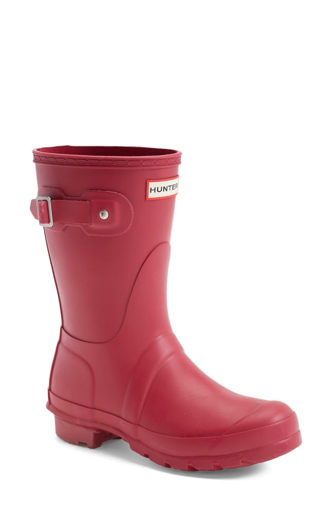 Alternate Image 1 Selected - Hunter 'Original Short' Rain Boot (Women)
