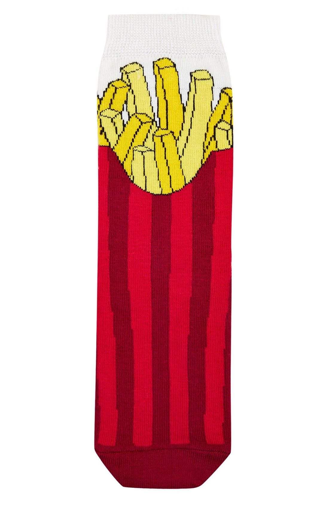 Alternate Image 2  - Topshop Fries Crew Socks