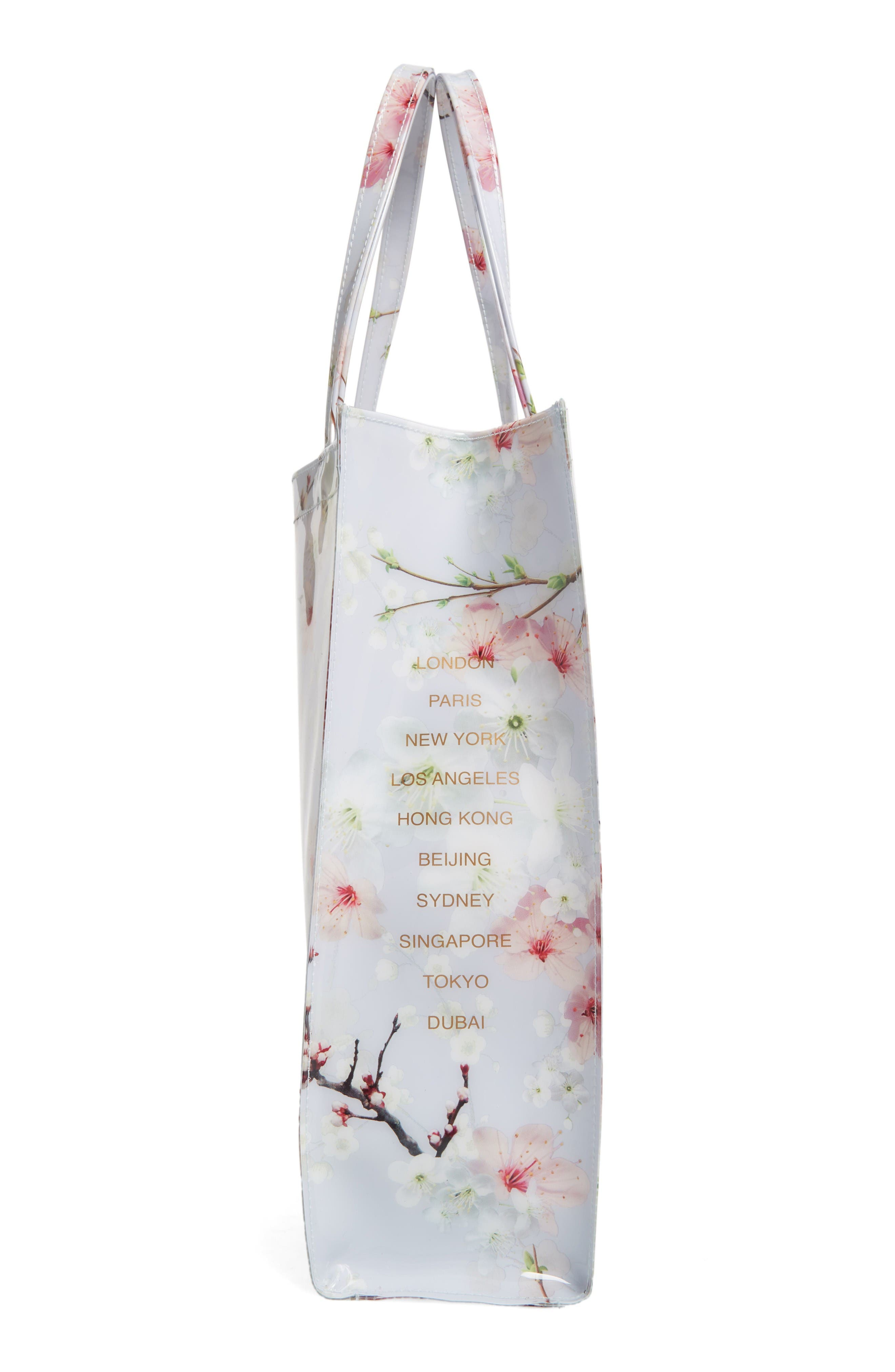 Alternate Image 4  - Ted Baker London Cherry Blossom Large Icon Tote