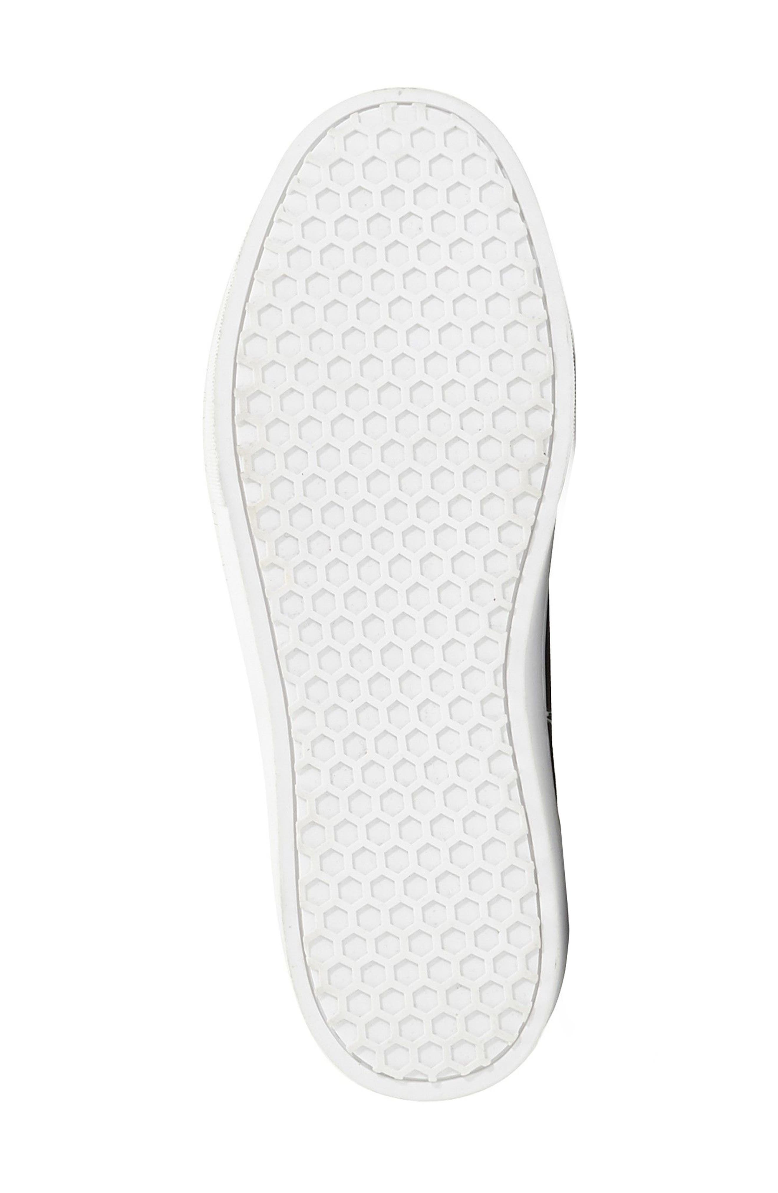 Alternate Image 4  - Sam Edelman 'Leya' Faux Fur Laceless Sneaker (Women)
