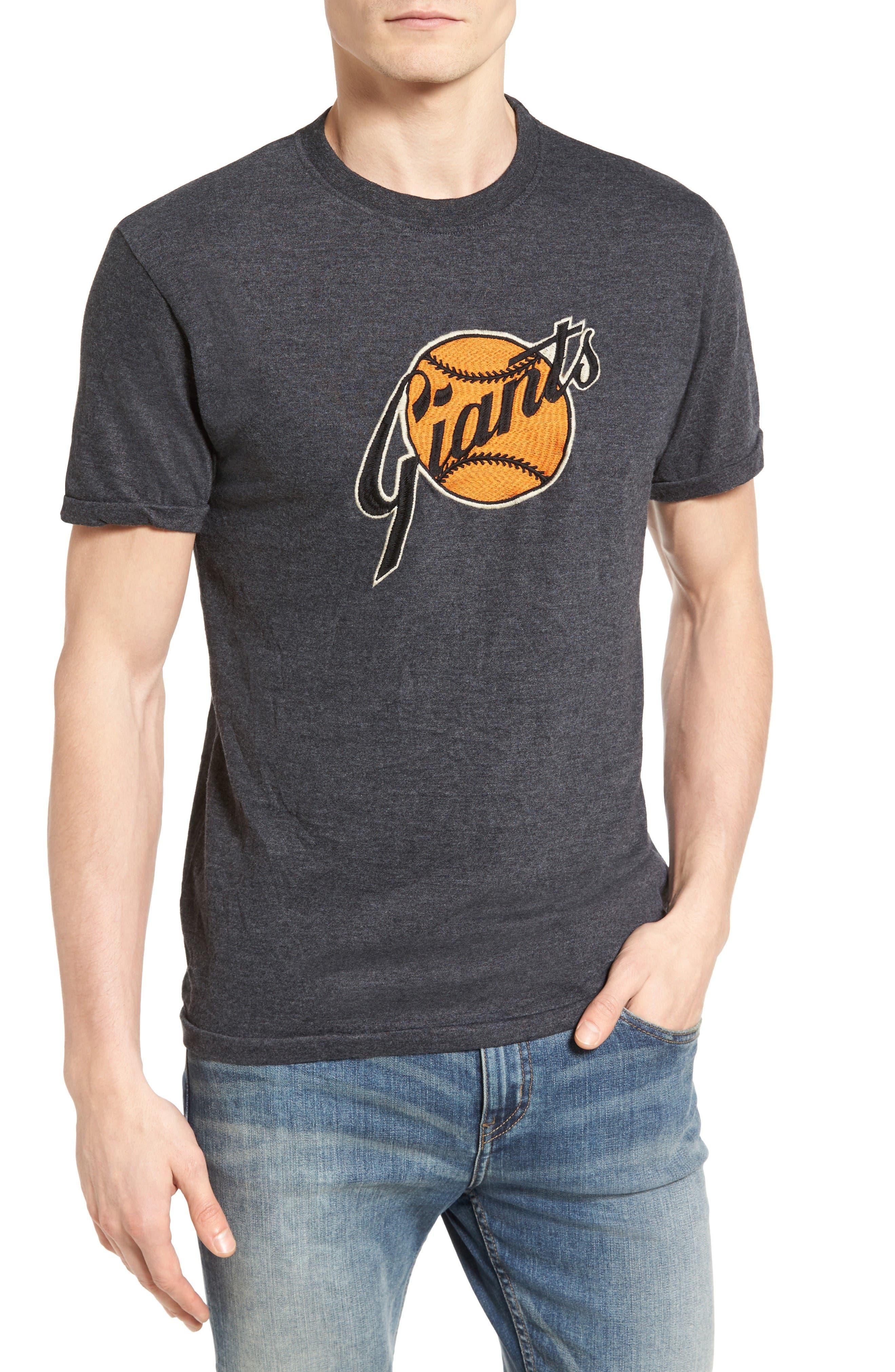 Hillwood San Francisco Giants T-Shirt,                         Main,                         color, Heather Black