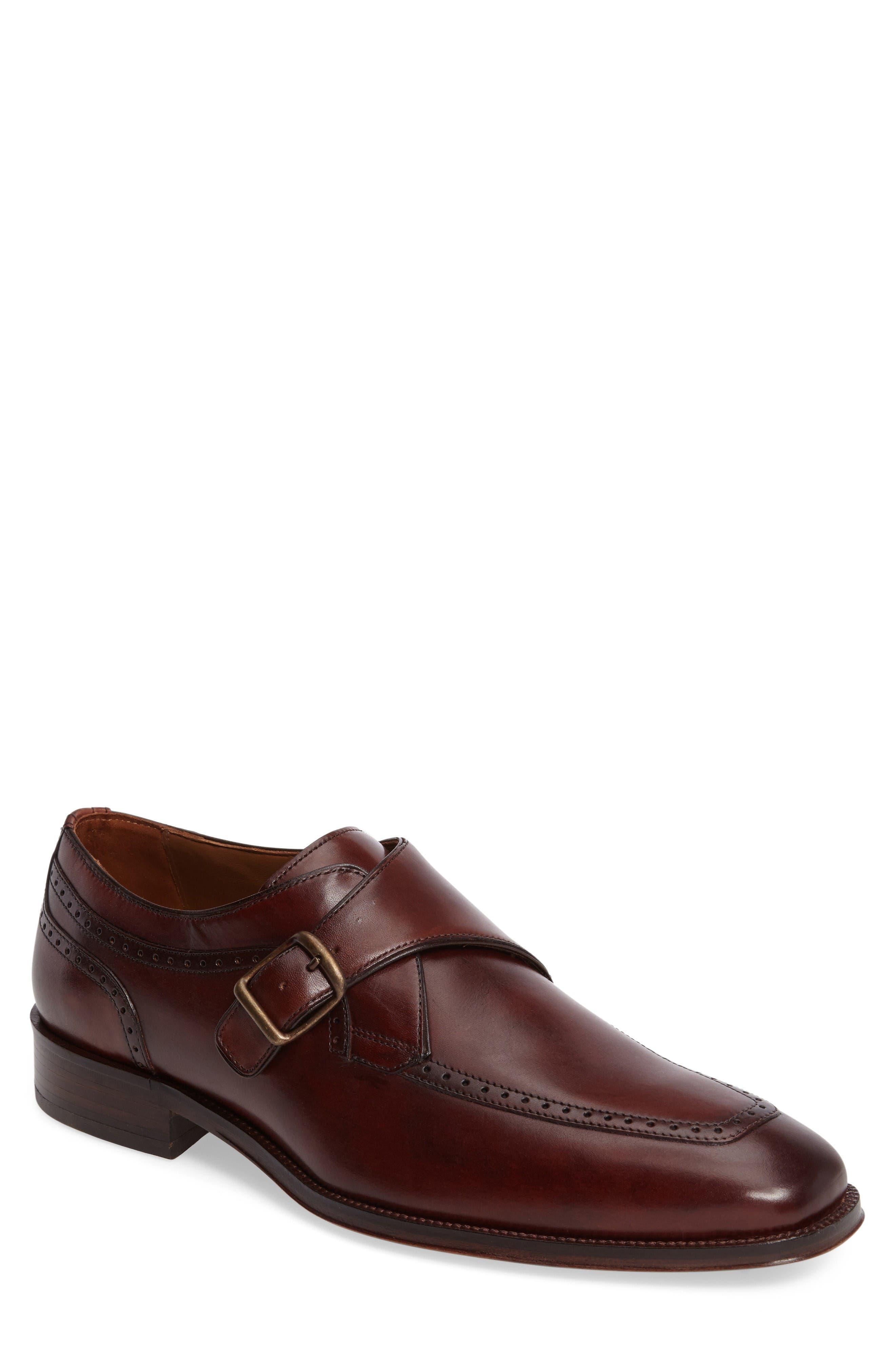 Main Image - Johnston & Murphy Boydstun Monk Strap Shoe (Men)