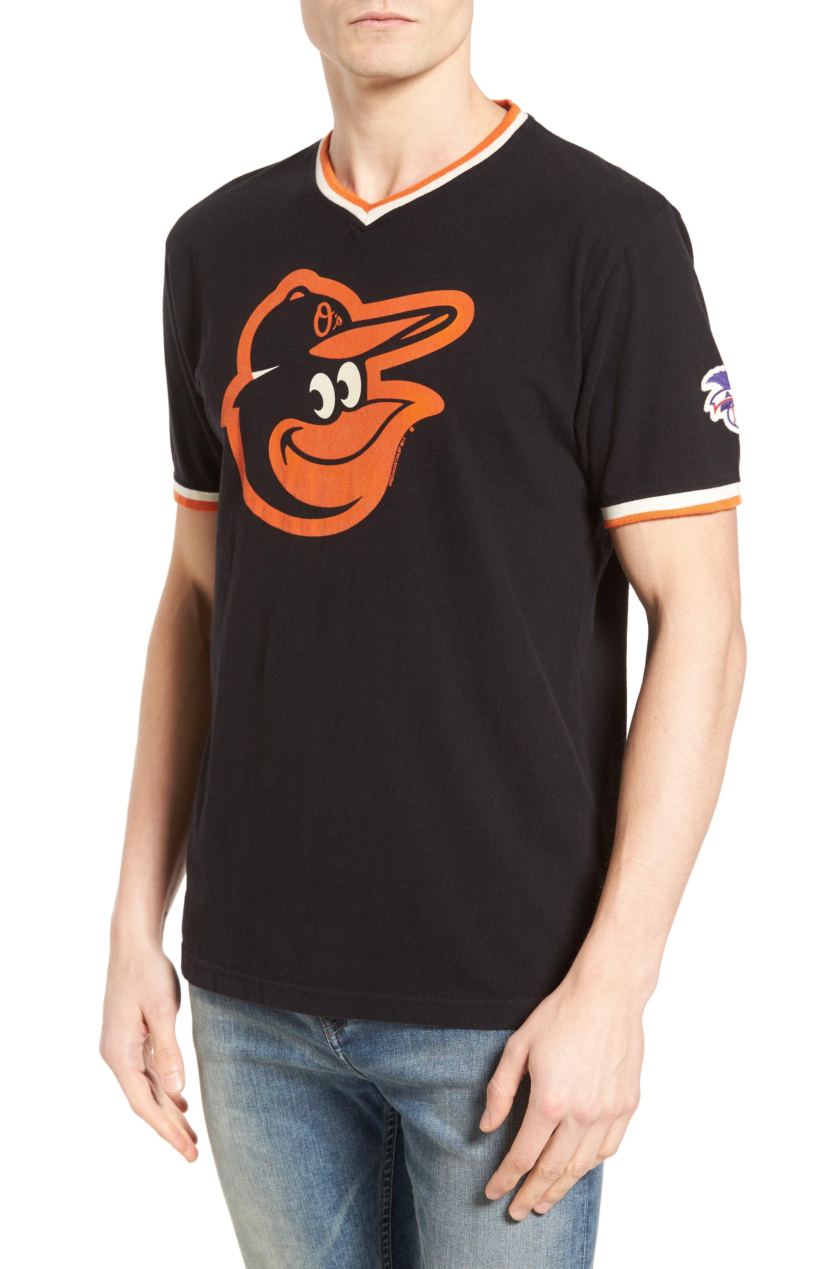 Eastwood Baltimore Orioles T-Shirt,                             Main thumbnail 1, color,                             Black