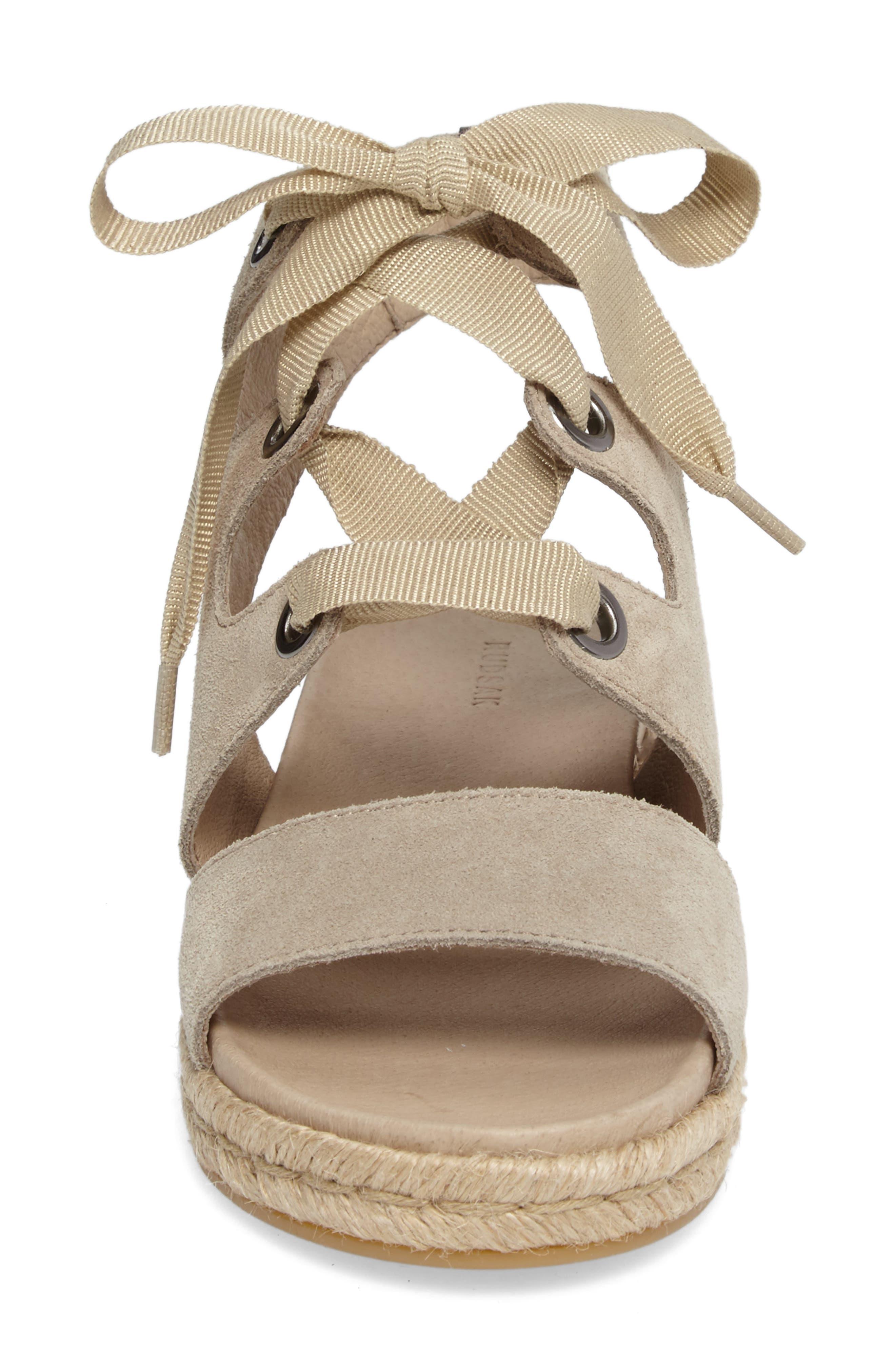 Alternate Image 5  - Rudsak Baptista Lace-Up Sandal (Women)