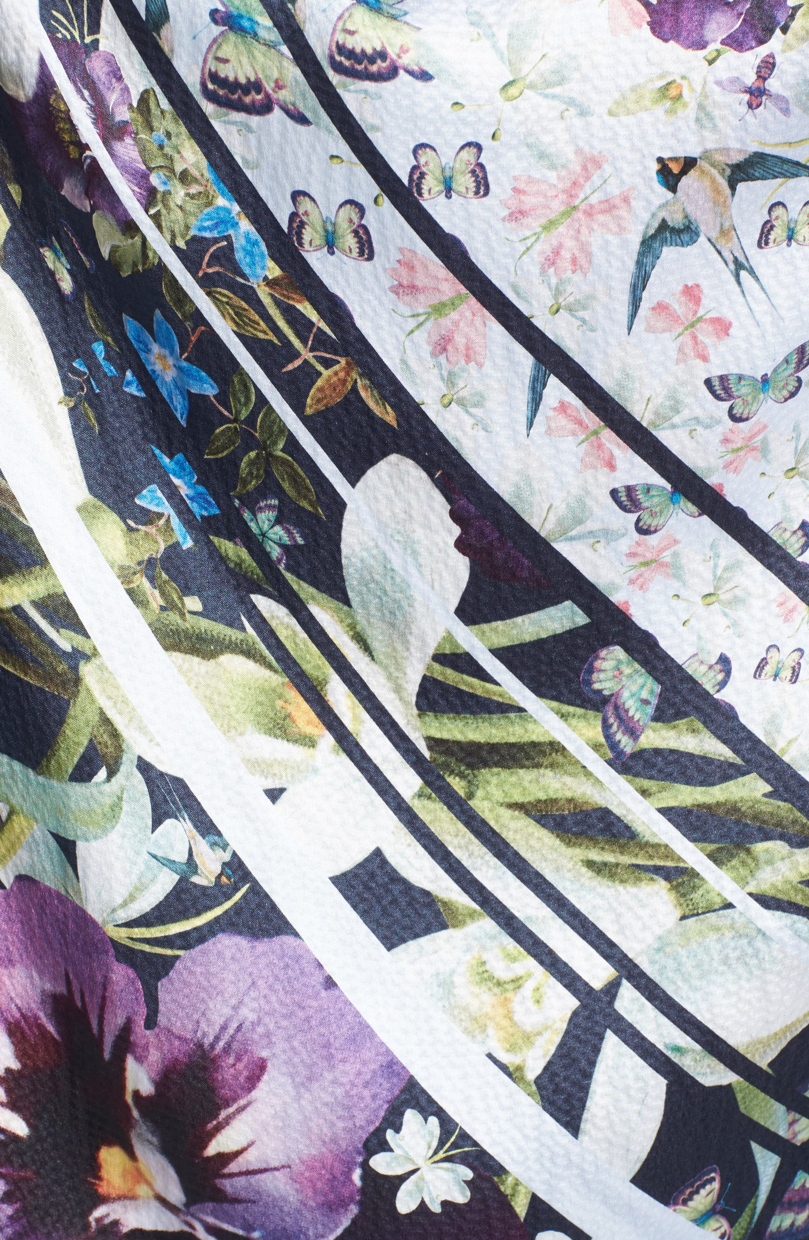 Alternate Image 5  - Ted Baker London Elva Enchantment Cape Scarf