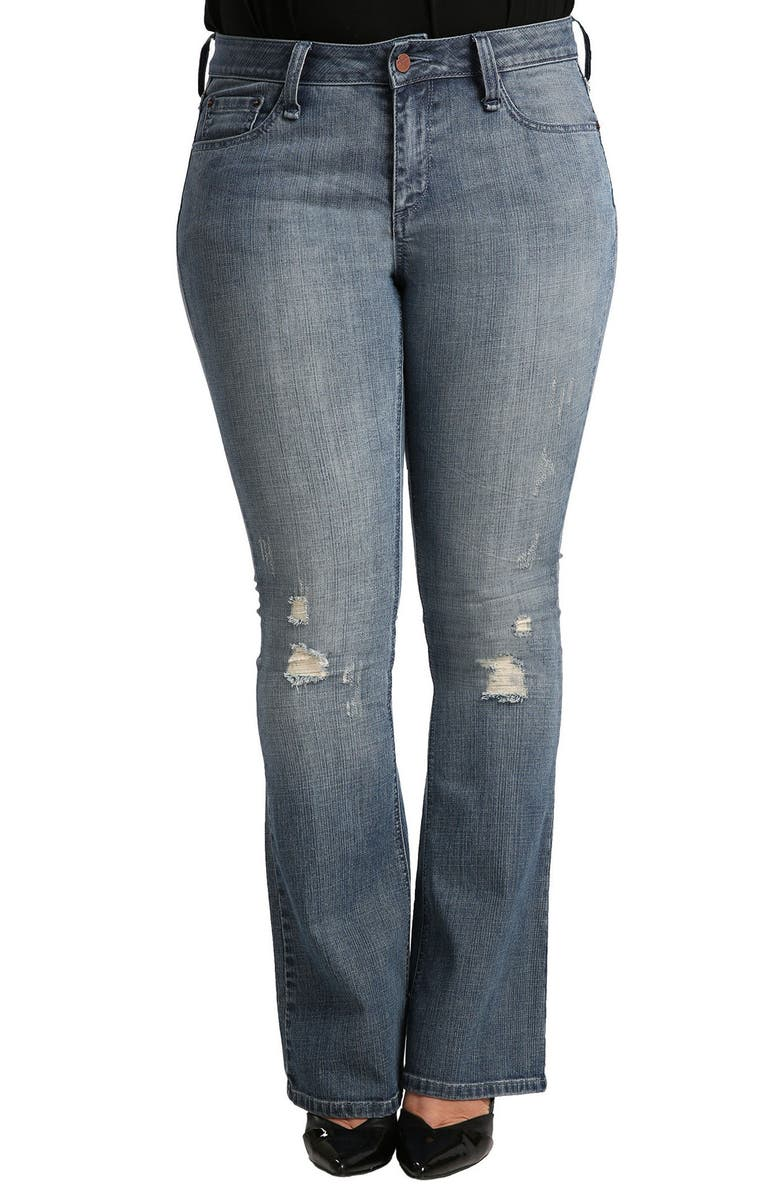 Clarice Uptown Mid Rise Bootcut Jeans