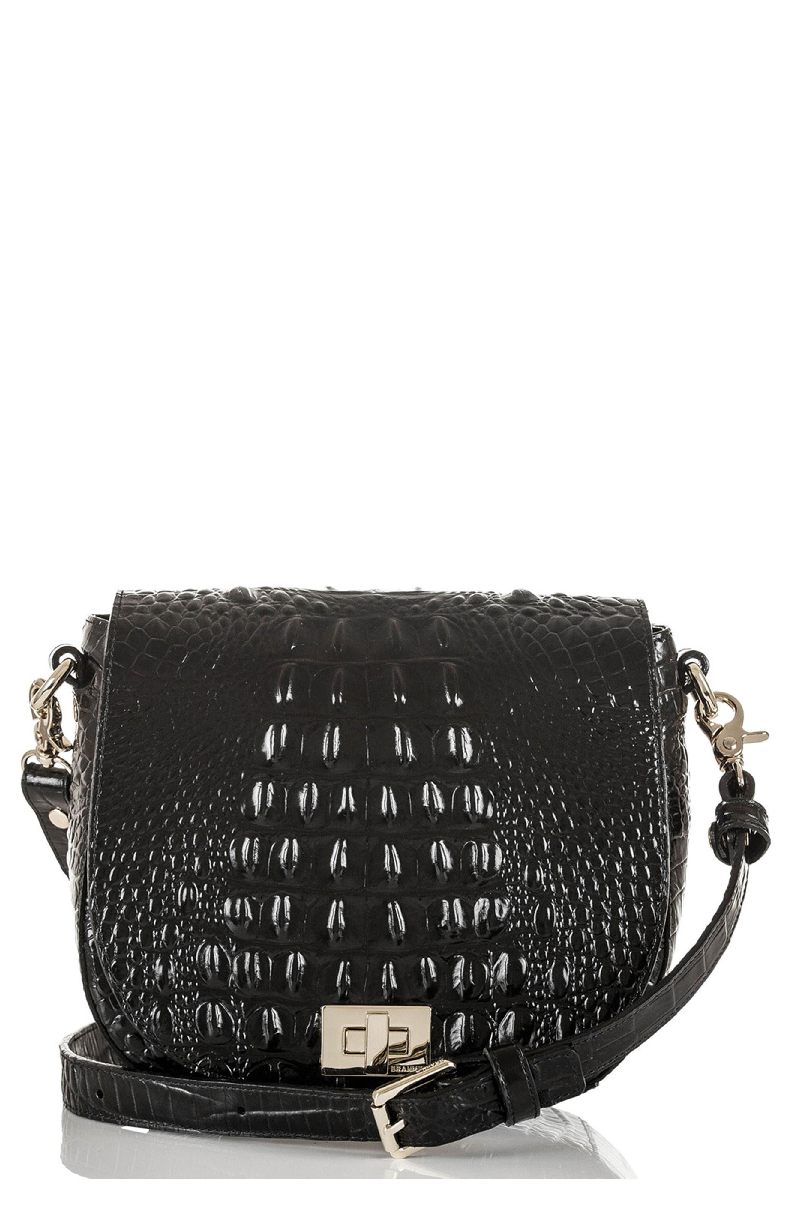 Brahmin Mini Sonny Leather Crossbody Bag