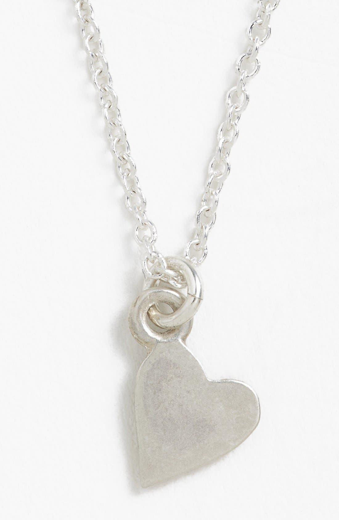Alternate Image 2  - Dogeared 'Mom' Pendant Necklace