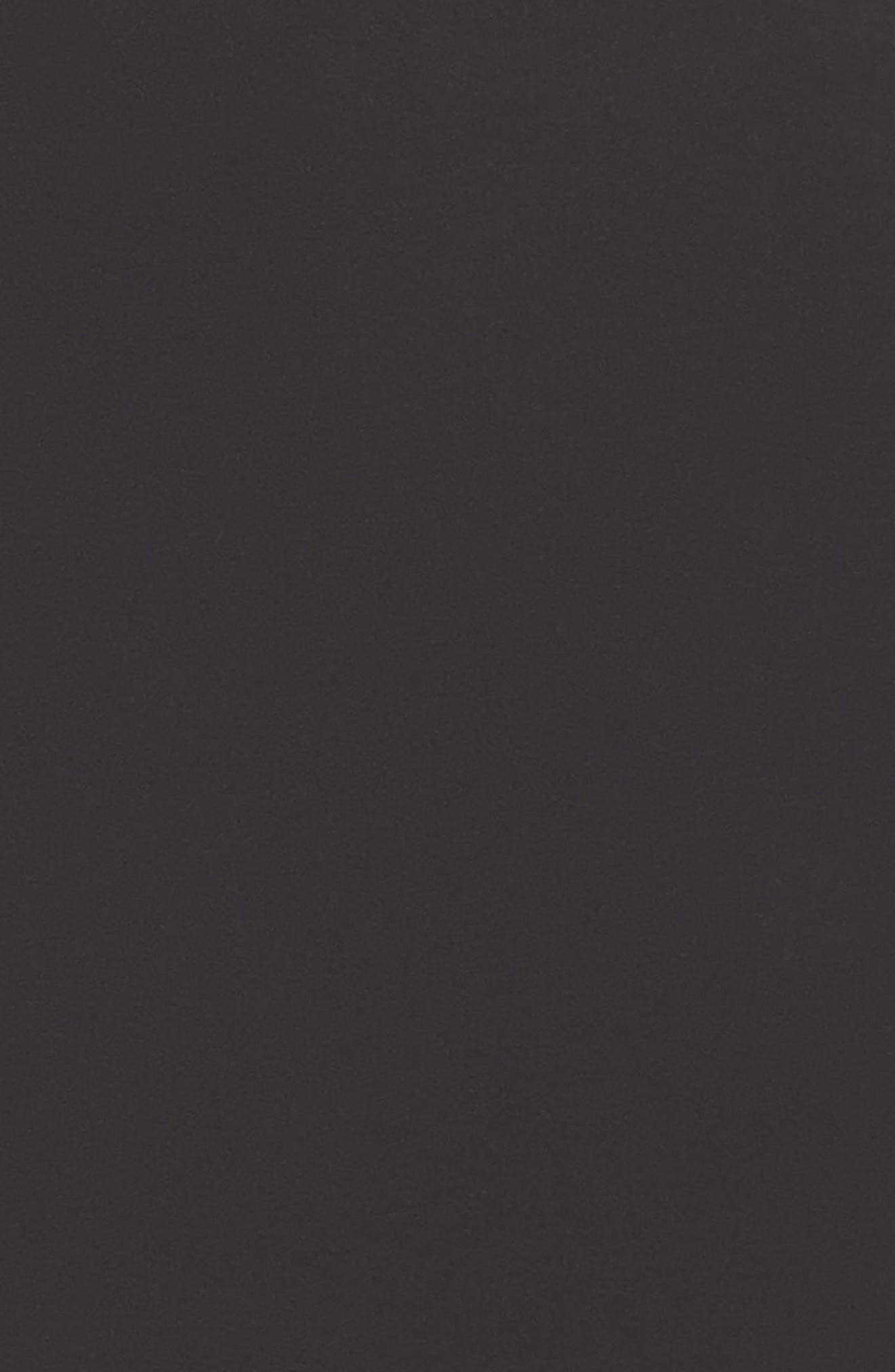 Top Model High Waist Skirt Shaper,                             Alternate thumbnail 4, color,                             Black