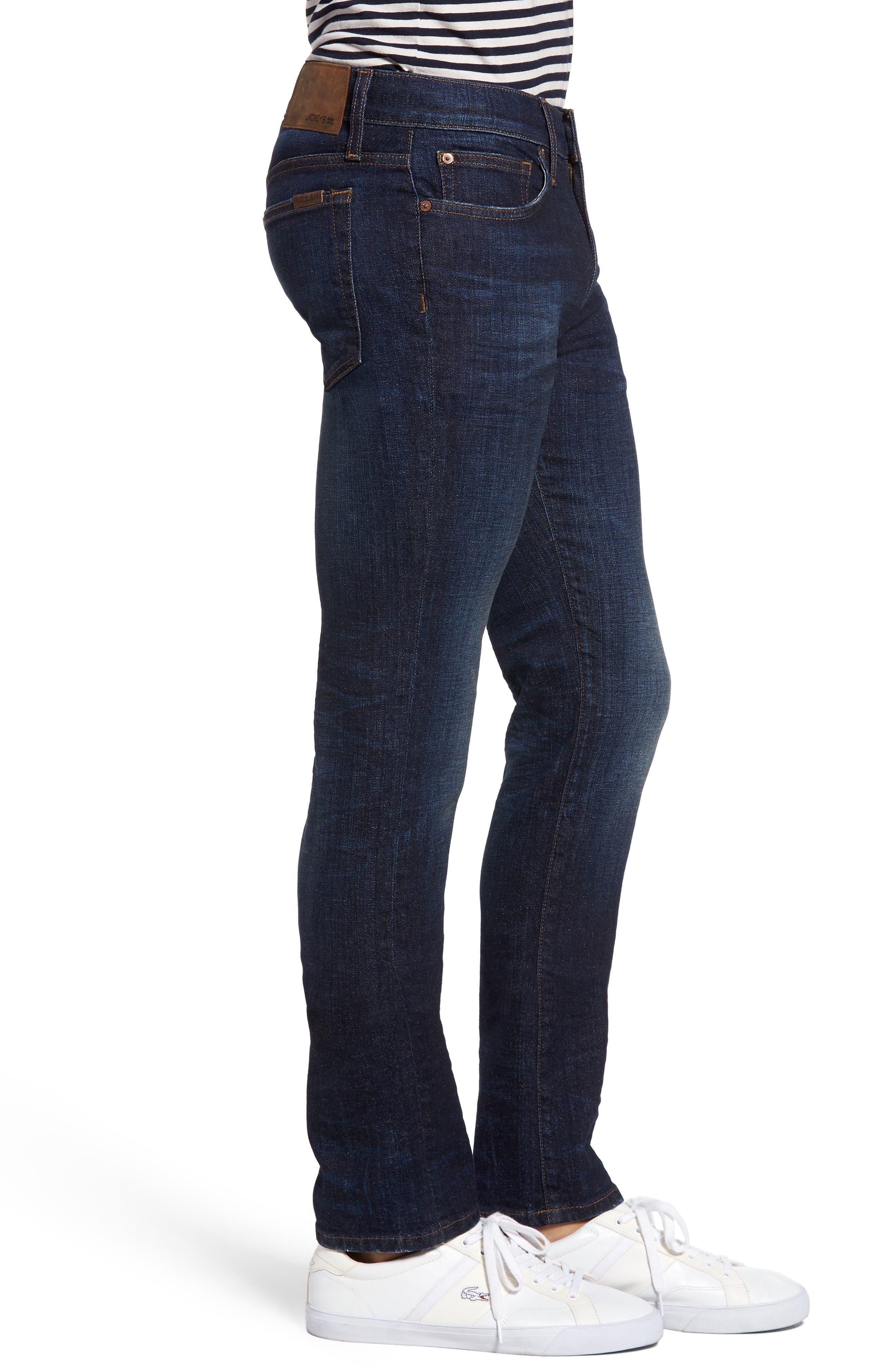 Classic Straight Leg Jeans,                             Alternate thumbnail 3, color,                             Montoya