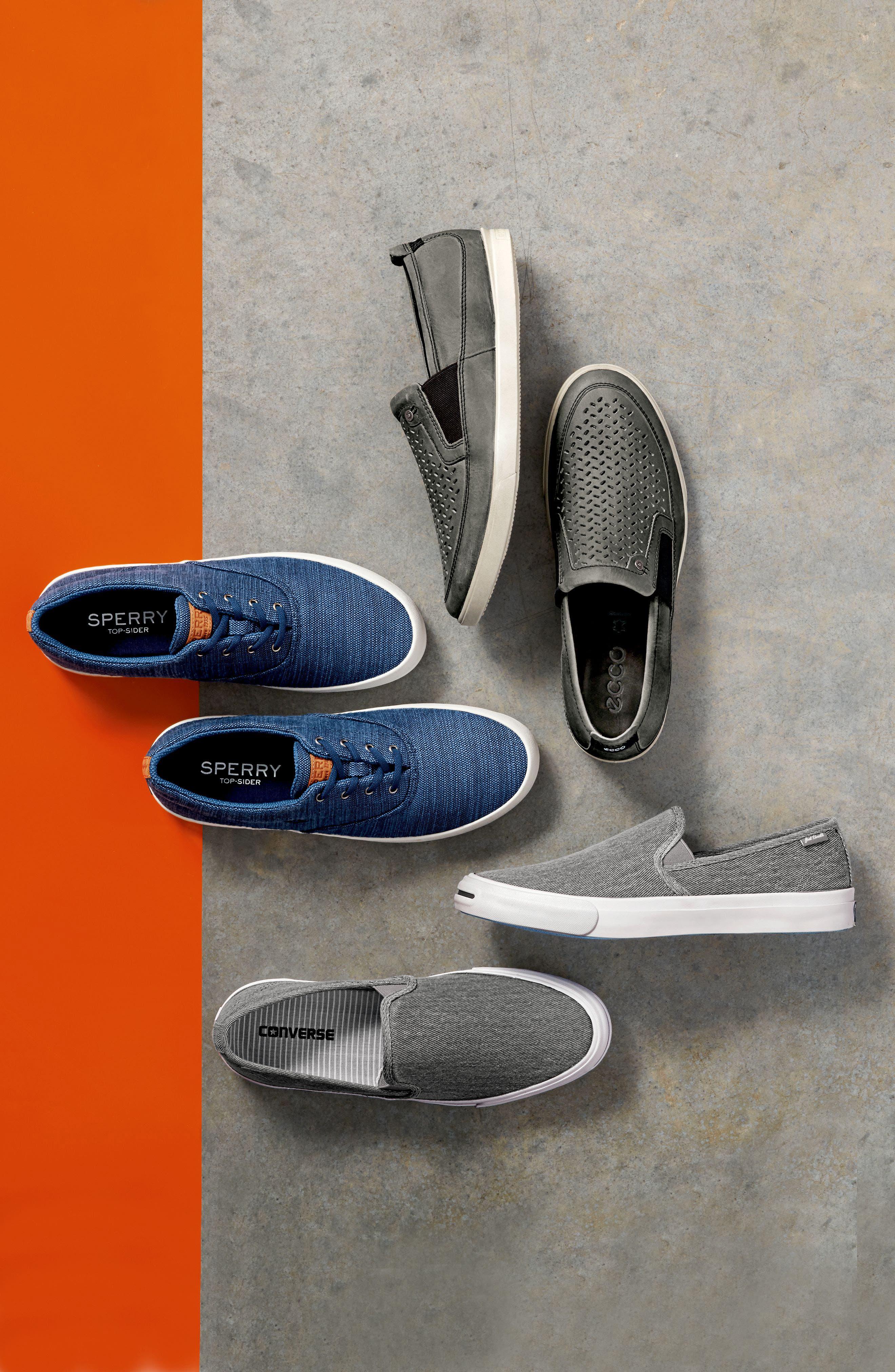 Alternate Image 7  - ECCO 'Collin' Perforated Slip On Sneaker (Men)