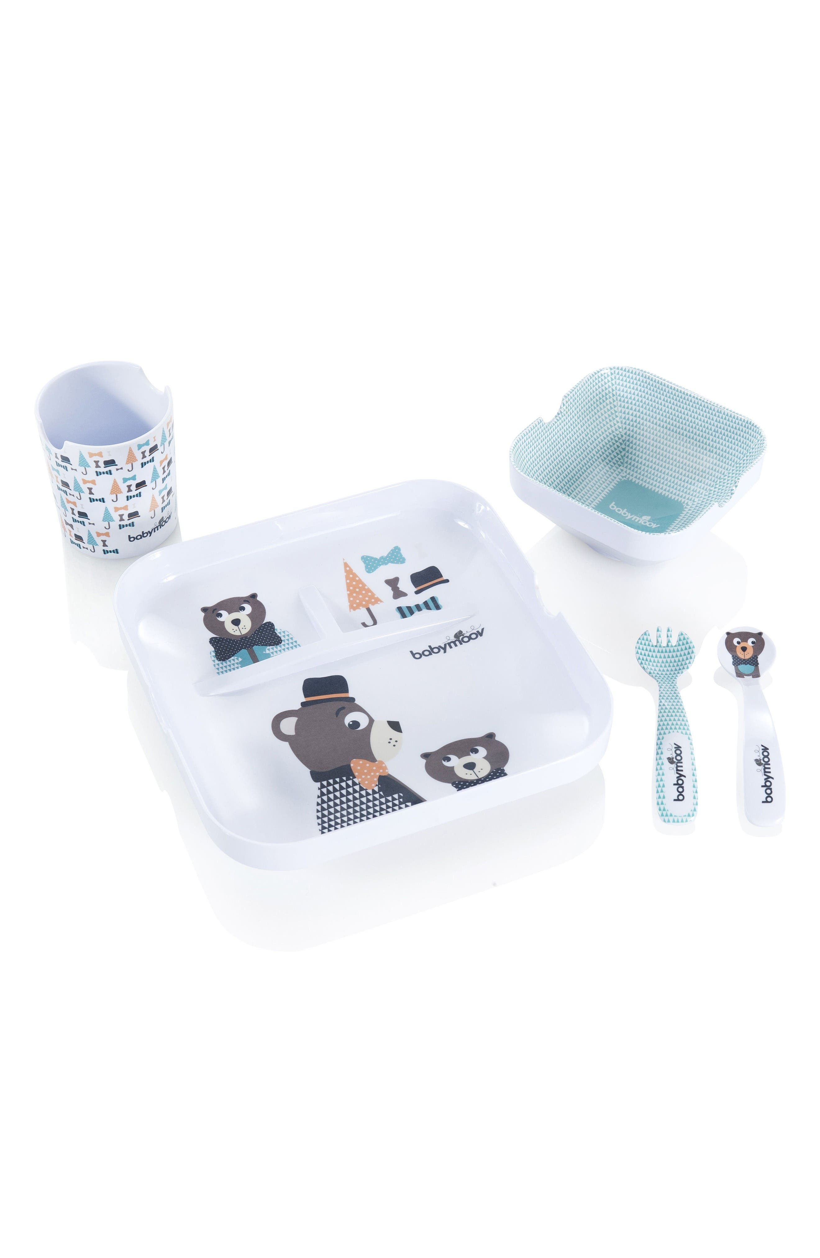 Lovely Lunch Set,                             Main thumbnail 1, color,                             Blue