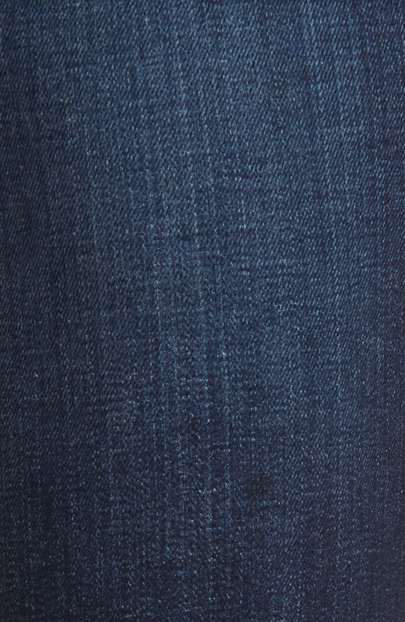 Classic Straight Leg Jeans,                             Alternate thumbnail 5, color,                             Montoya