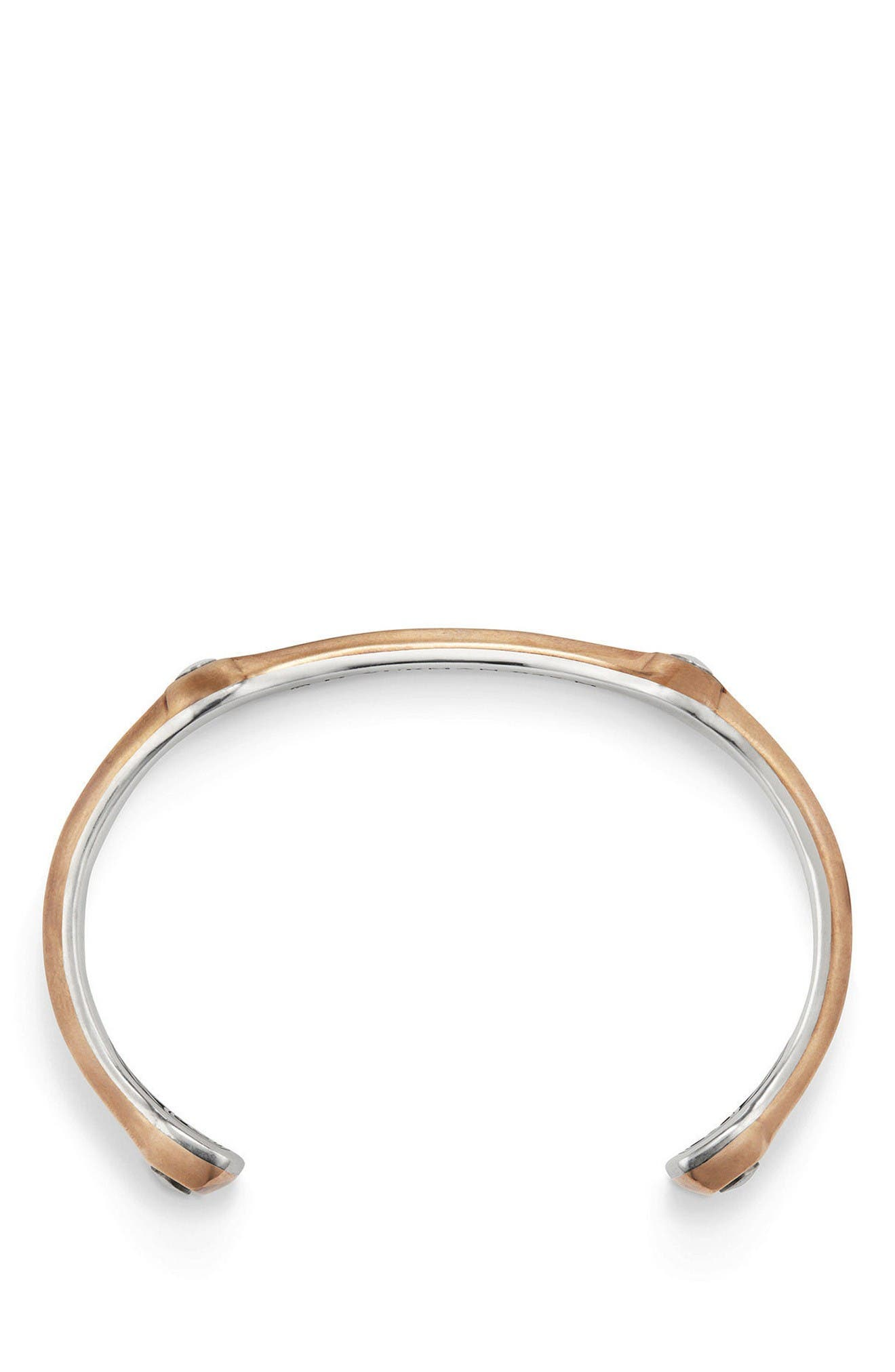 Alternate Image 2  - David Yurman Anvil Cuff Bracelet, 10.5mm
