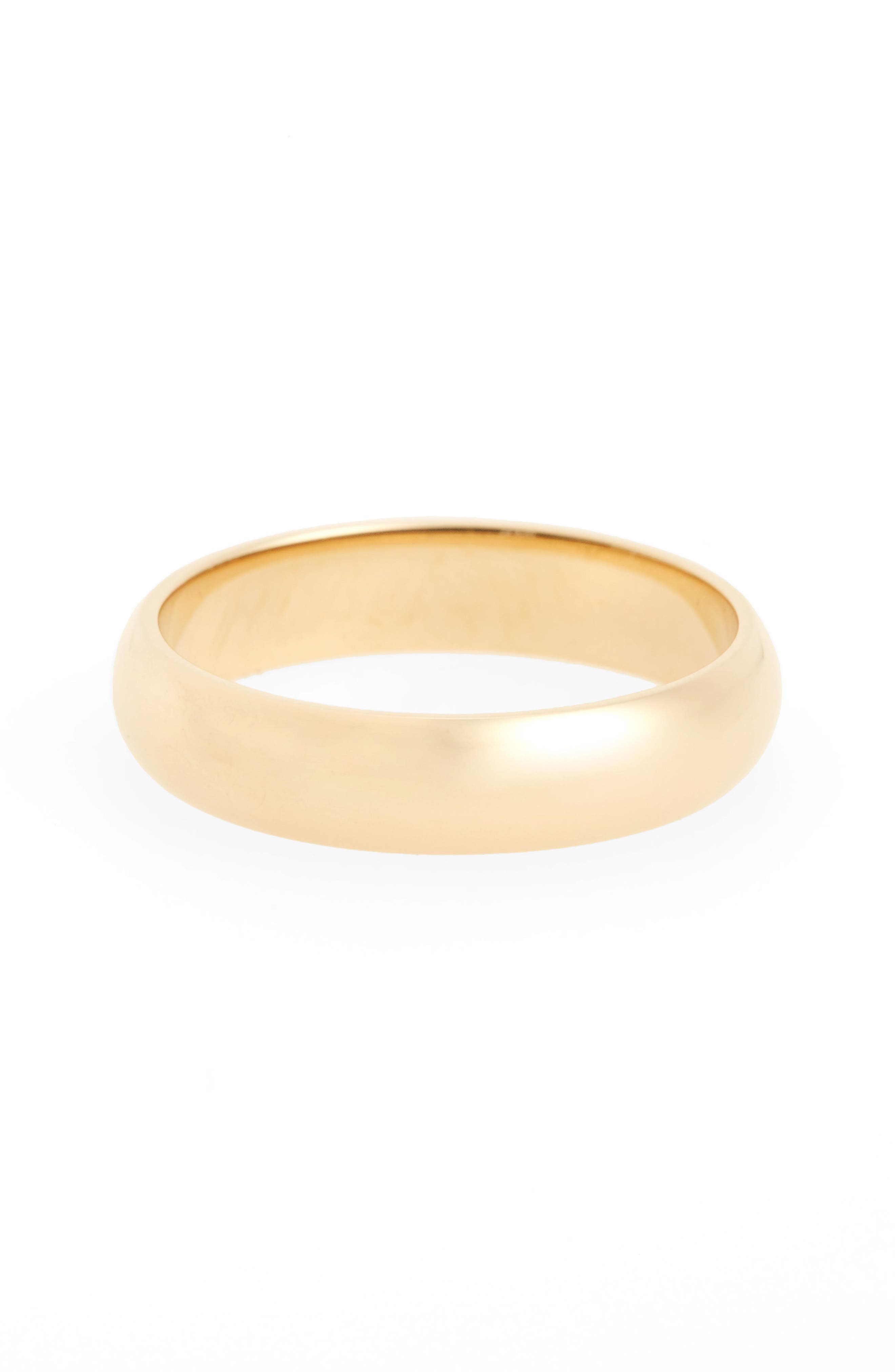Harmony<sup>®</sup> Half Round Classic Band Ring,                         Main,                         color, Yellow Gold