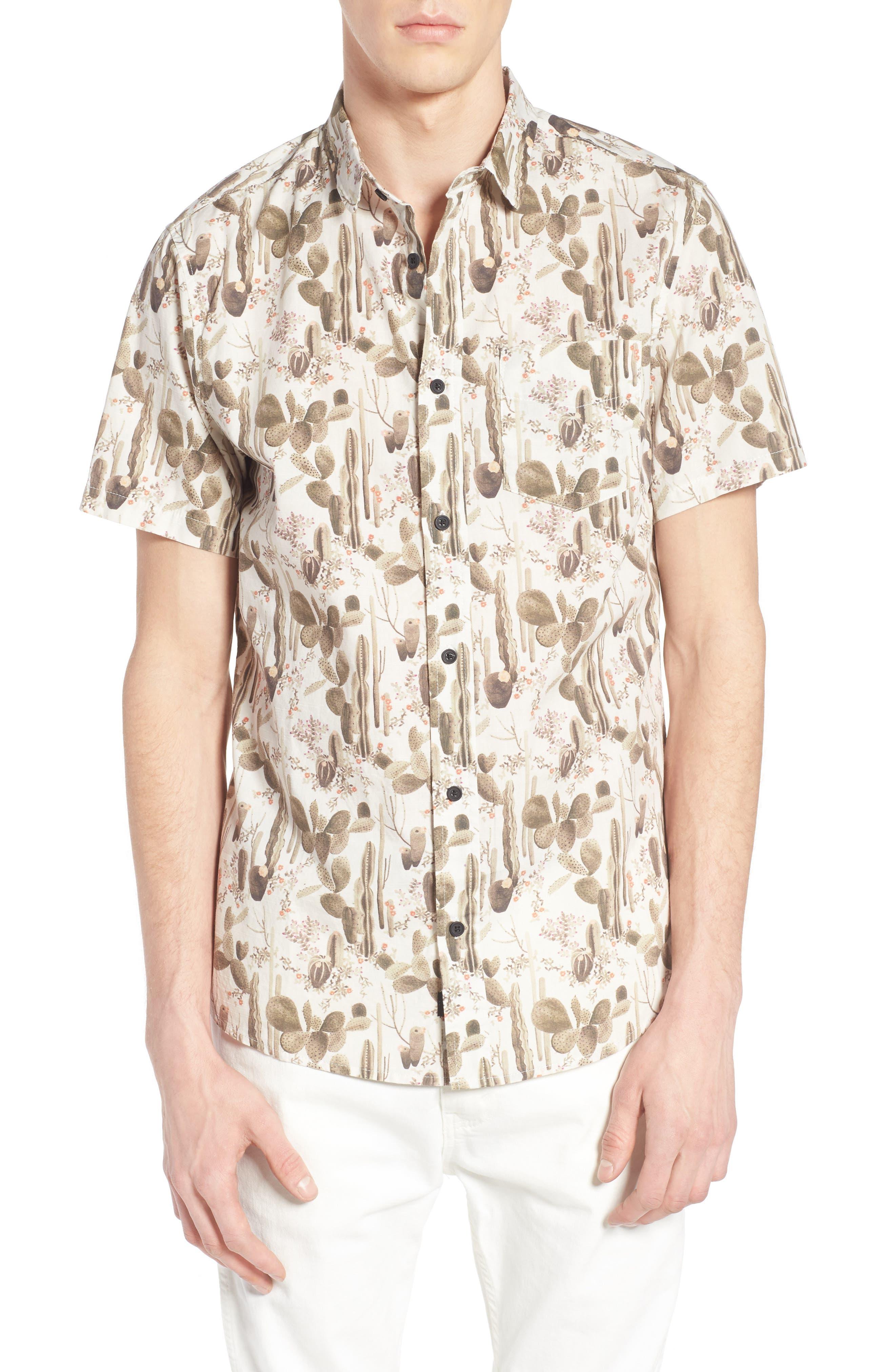 Globe Desert Bloom Print Shirt