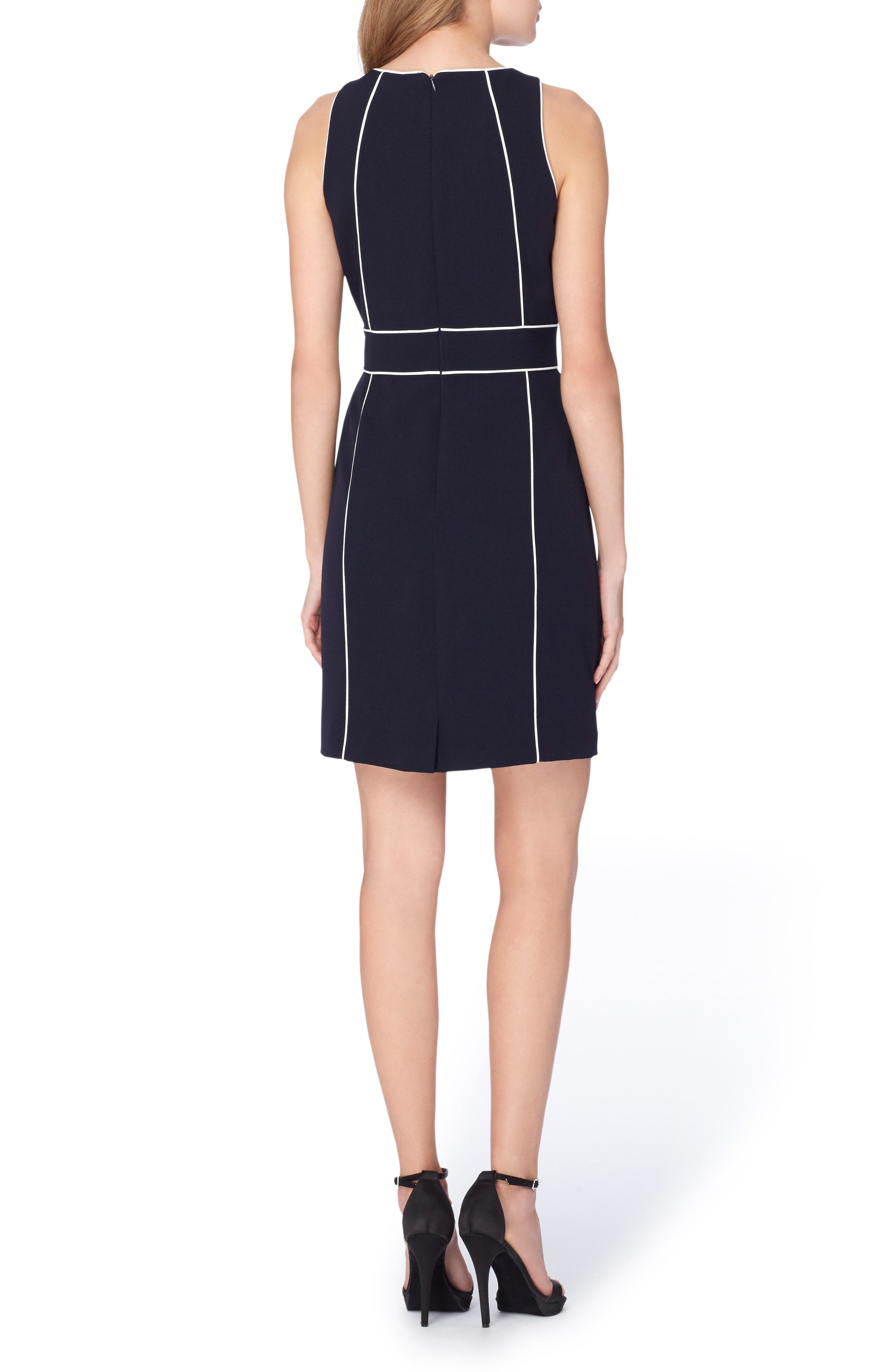 Alternate Image 2  - Tahari Colorblock Sheath Dress (Regular & Petite)