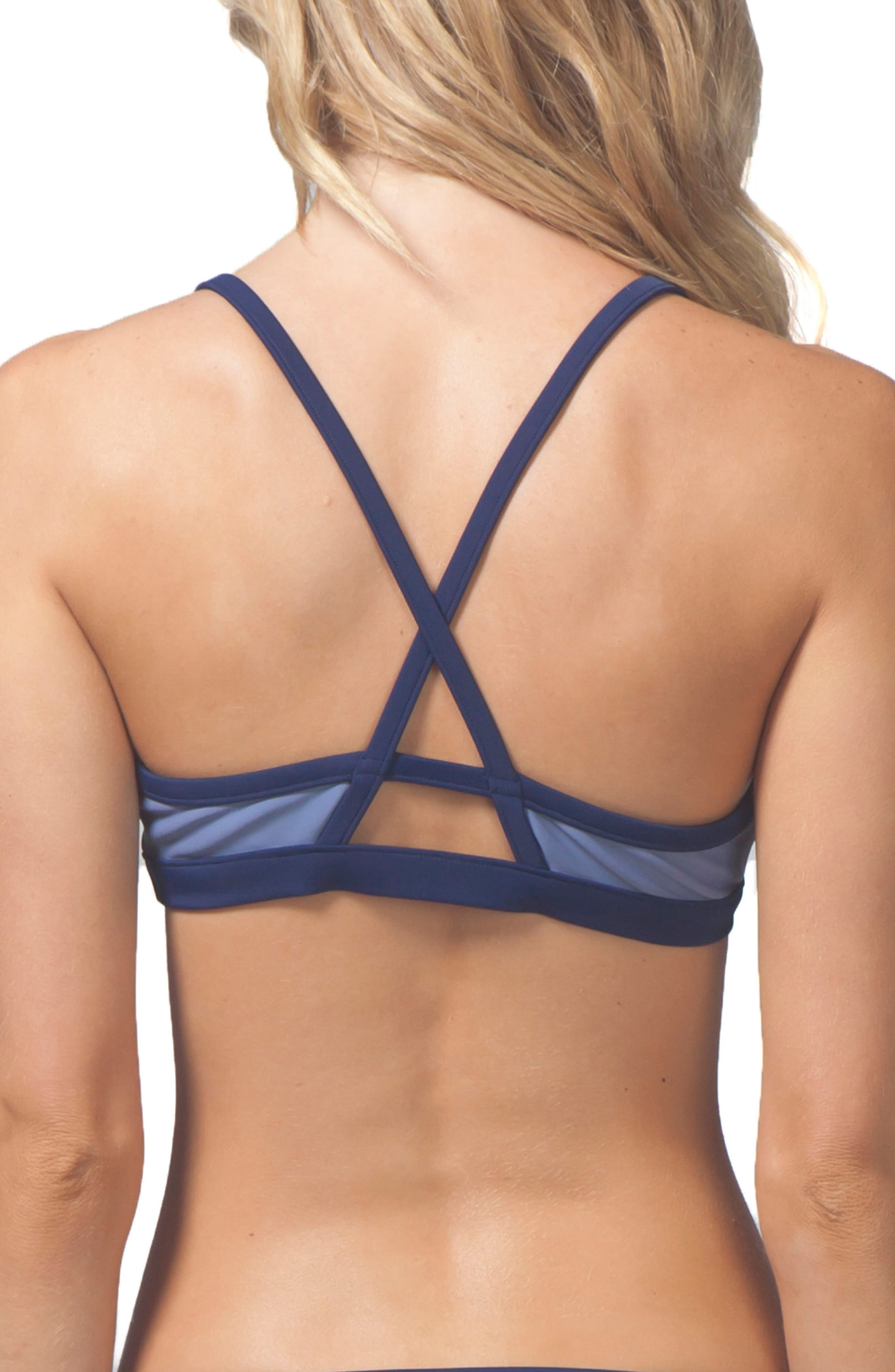 Alternate Image 3  - Rip Curl Mirage Essentials Block Out Reversible Bikini Top