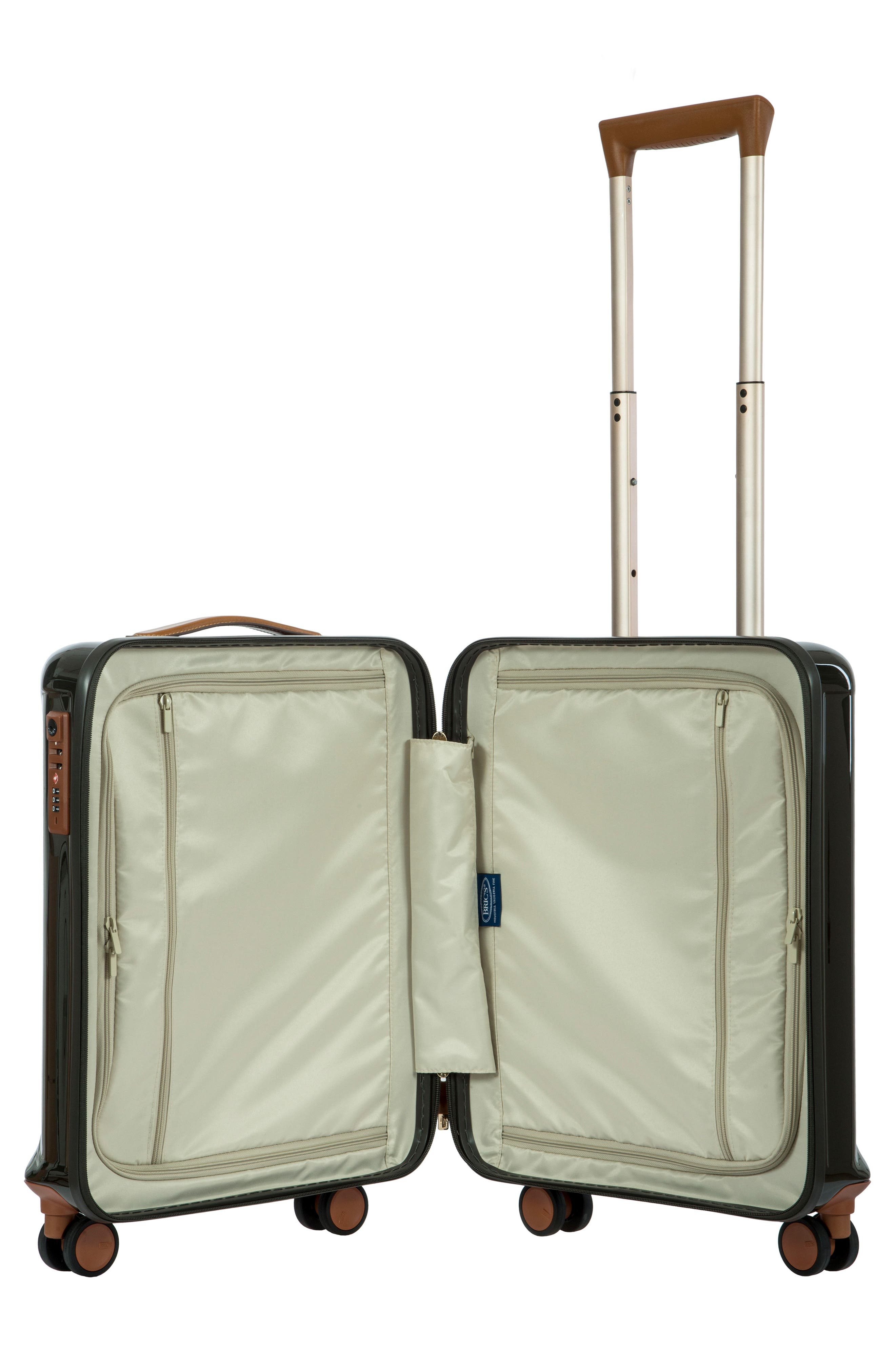 Capri 21-Inch Rolling Carry-On,                             Alternate thumbnail 3, color,                             Olive
