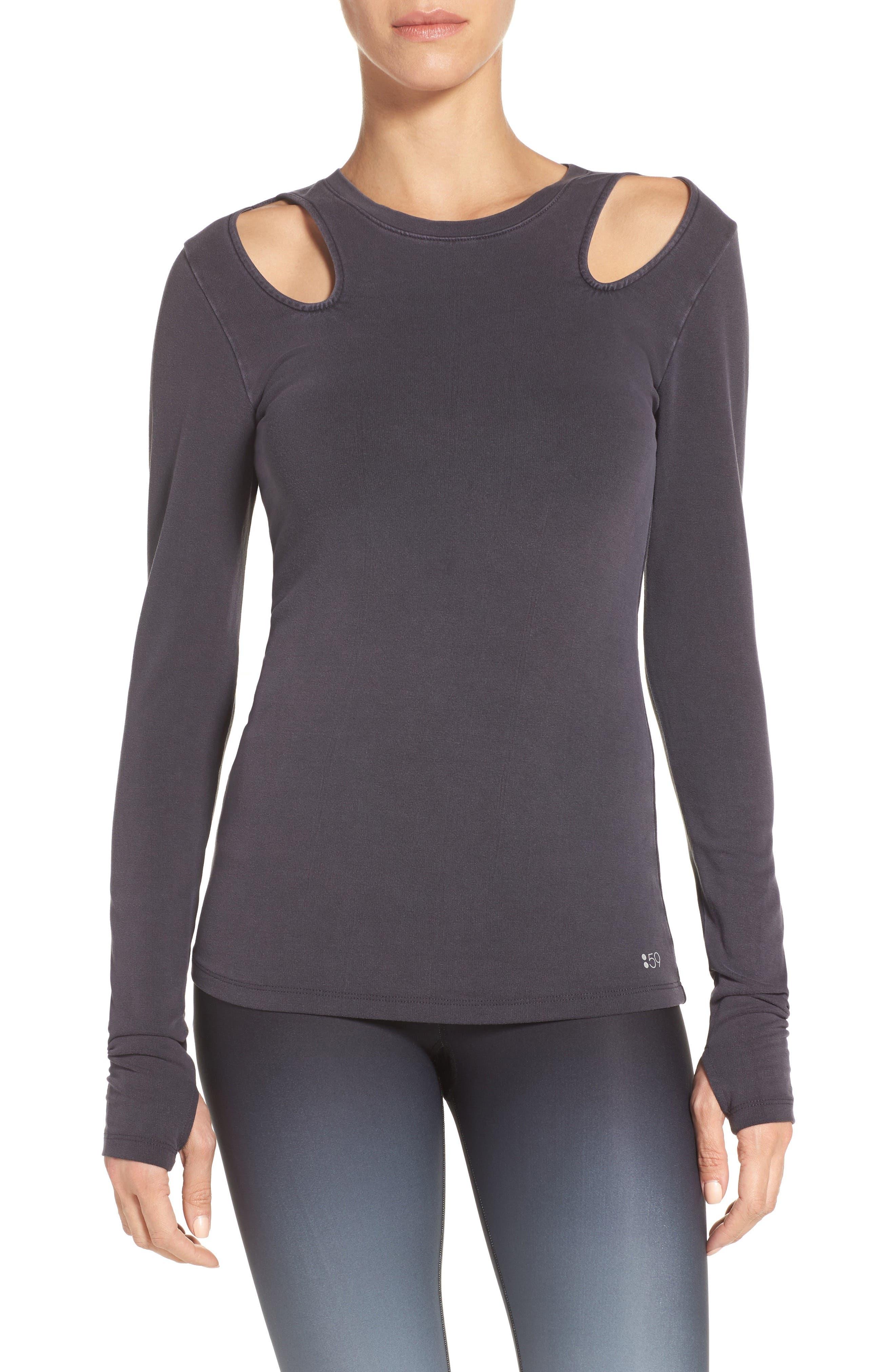 Splits59 Alexis Cutout Sweatshirt