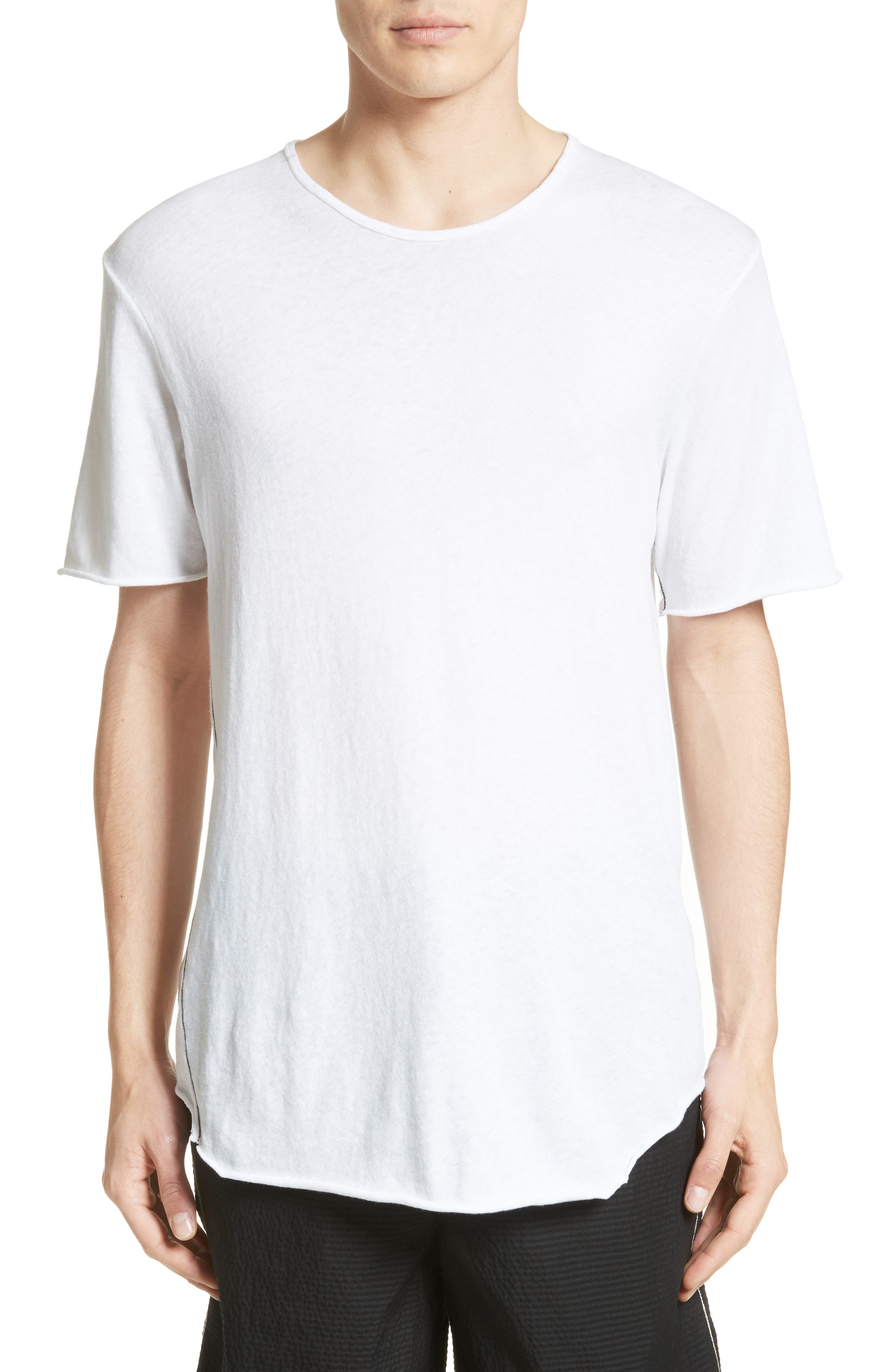 rag & bone Hartley Cotton & Linen T-Shirt
