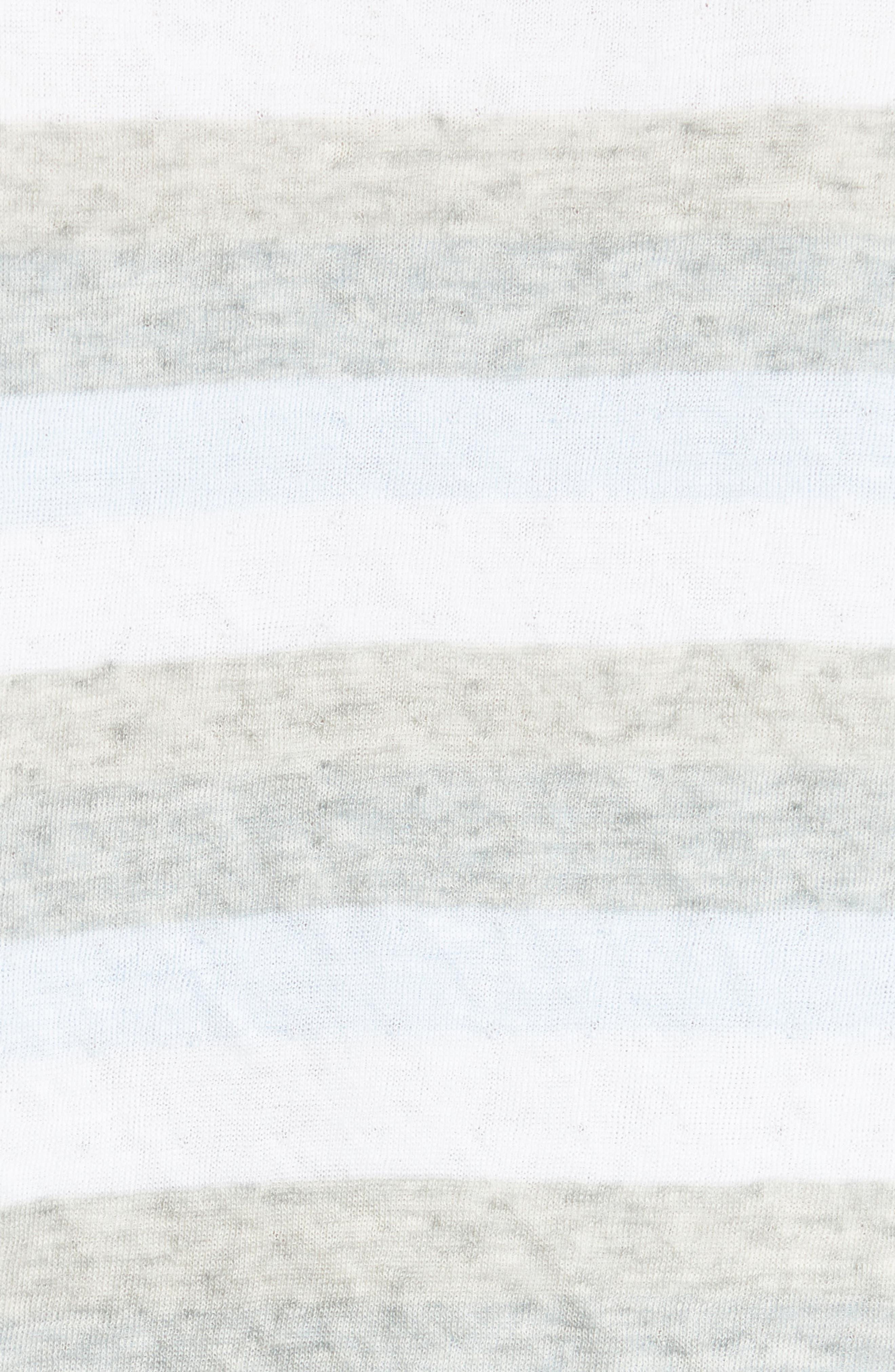 Alternate Image 5  - rag & bone Tripp Cotton & Wool T-Shirt