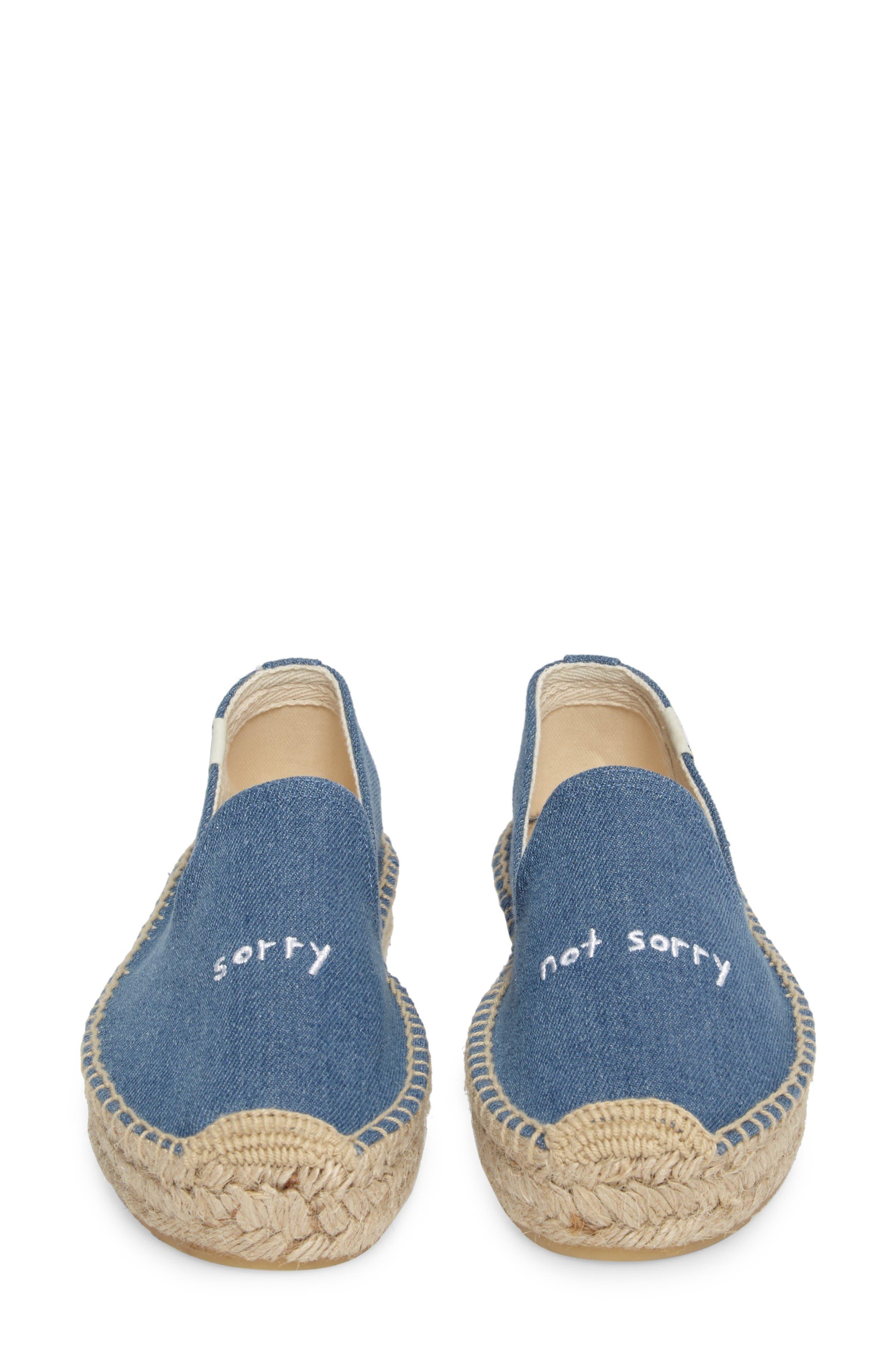 Alternate Image 4  - Soludos x ASHKAHN Sorry Embroidered Platform Espadrille (Women)