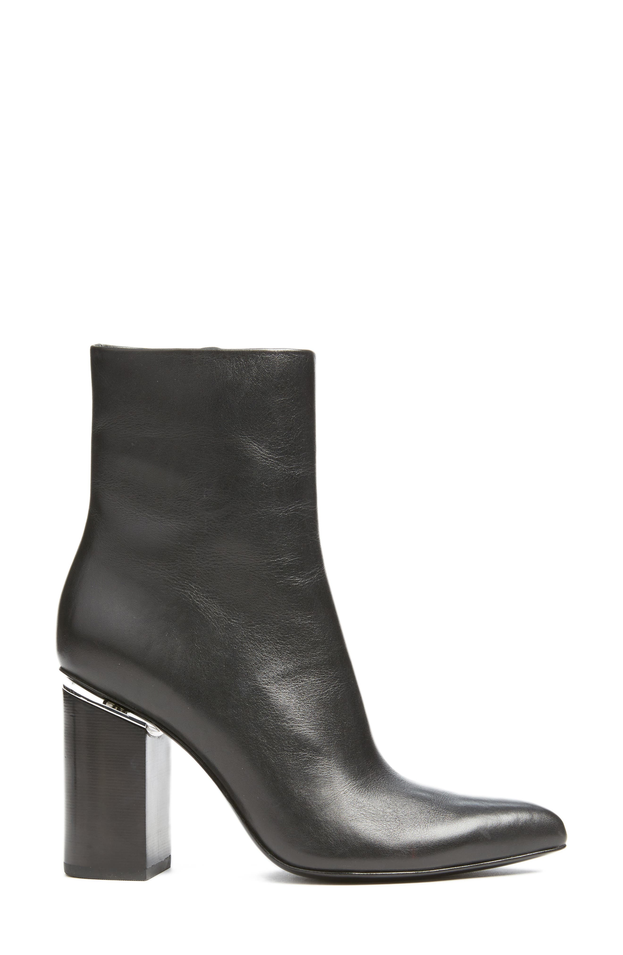 Kirby Boot,                             Alternate thumbnail 3, color,                             Black Leather