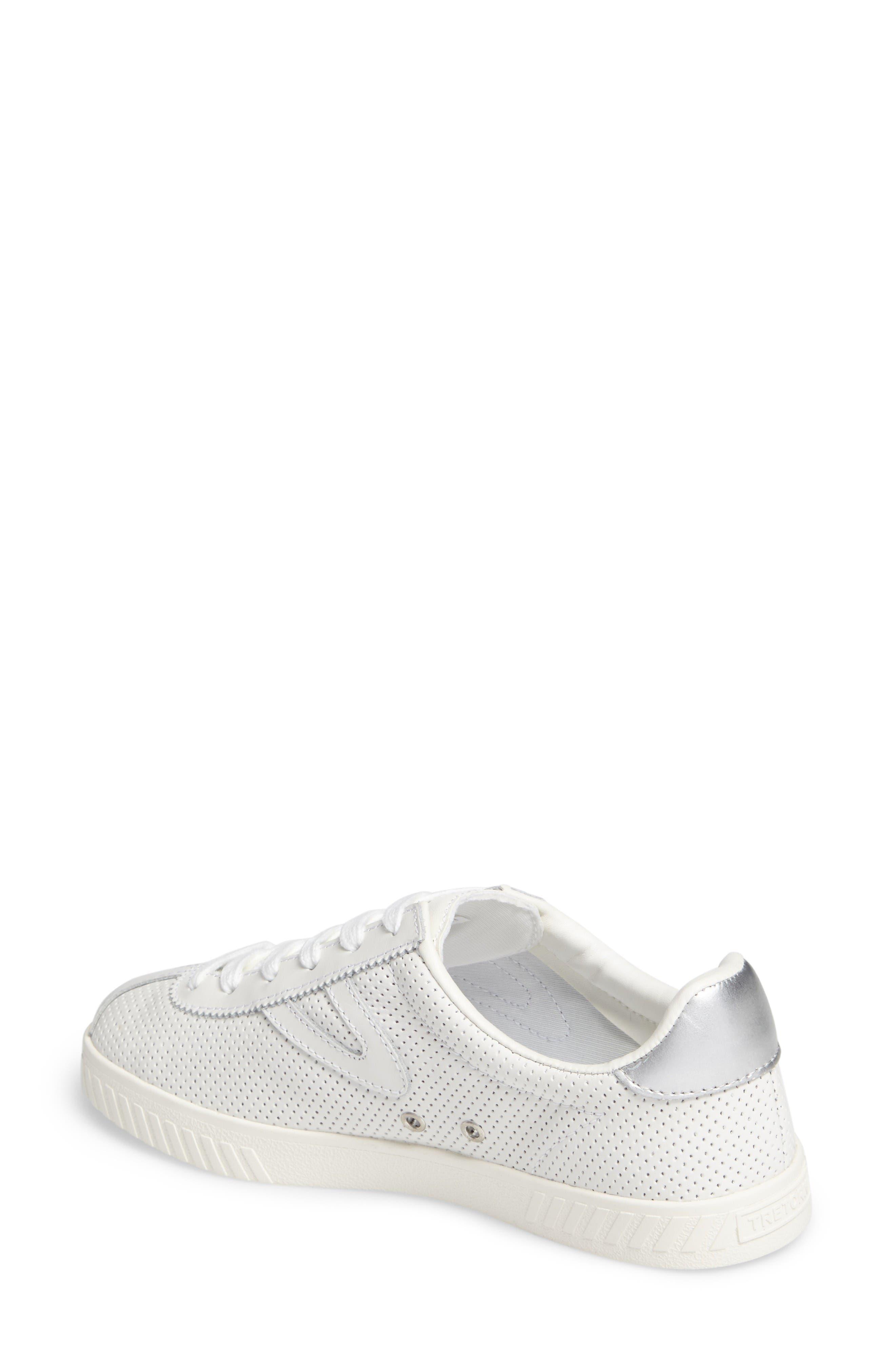 Camden 2 Sneaker,                             Alternate thumbnail 2, color,                             White/ White/ Silver