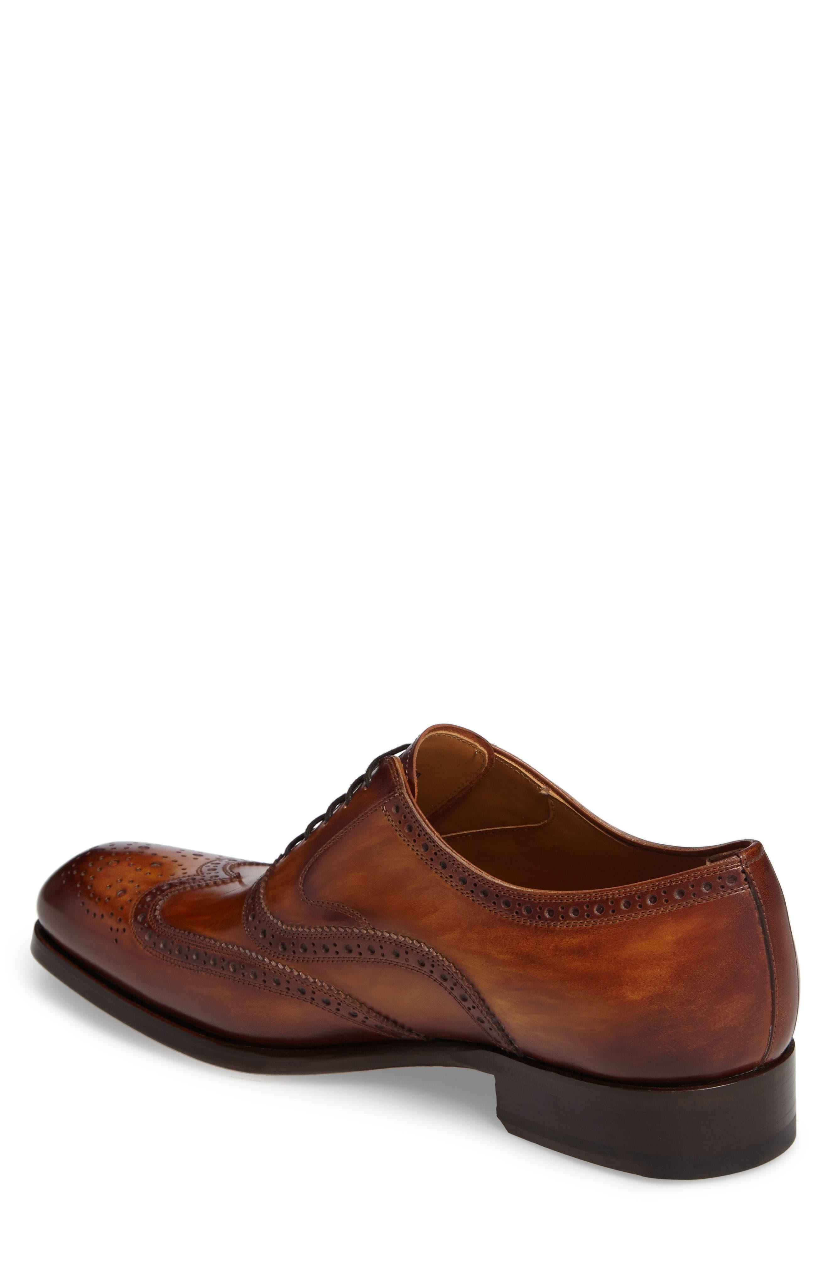 Victorio Wingtip,                             Alternate thumbnail 2, color,                             Cuero Leather