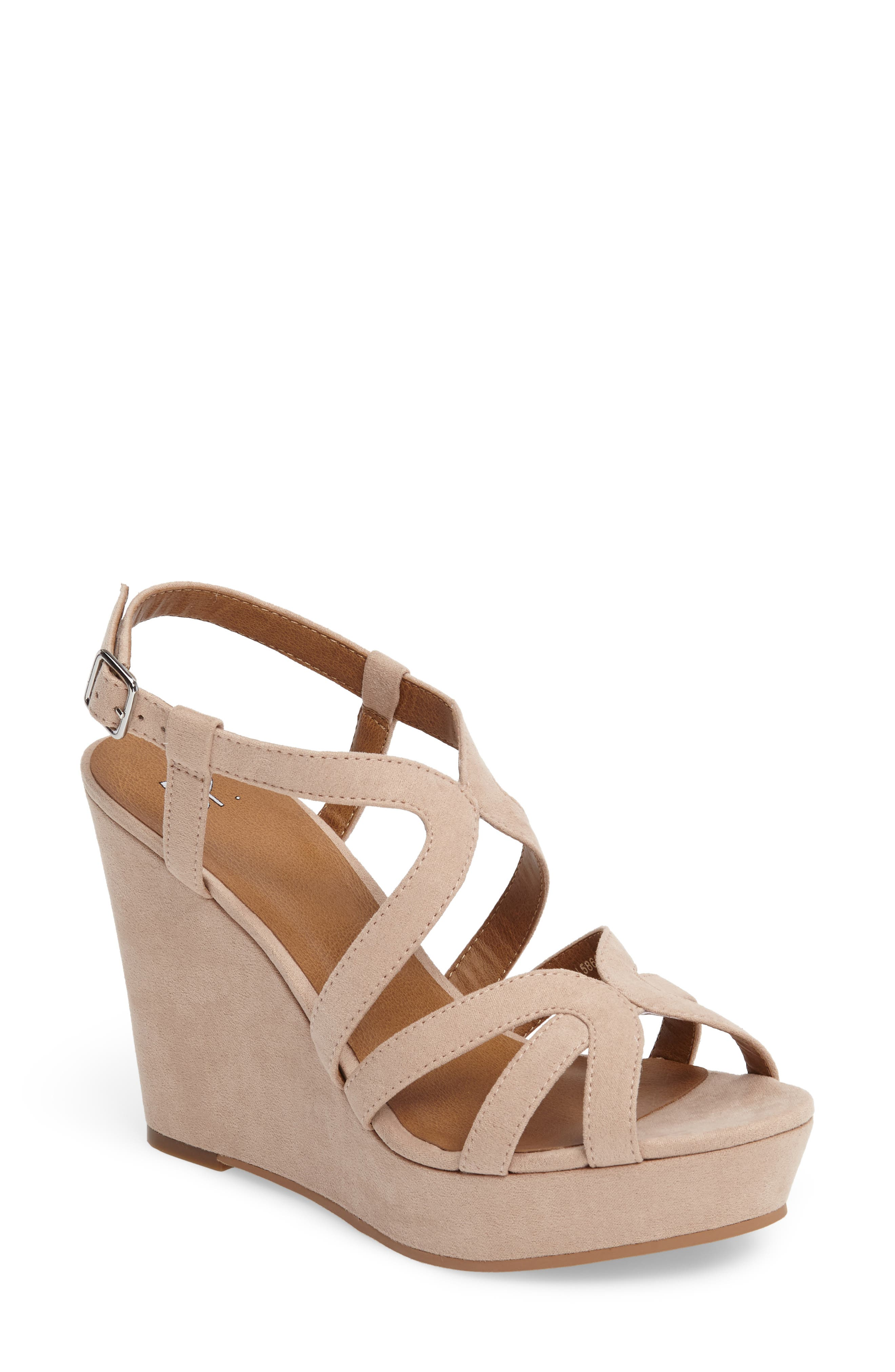 Alternate Image 1 Selected - BP. Sky Wedge Sandal (Women)