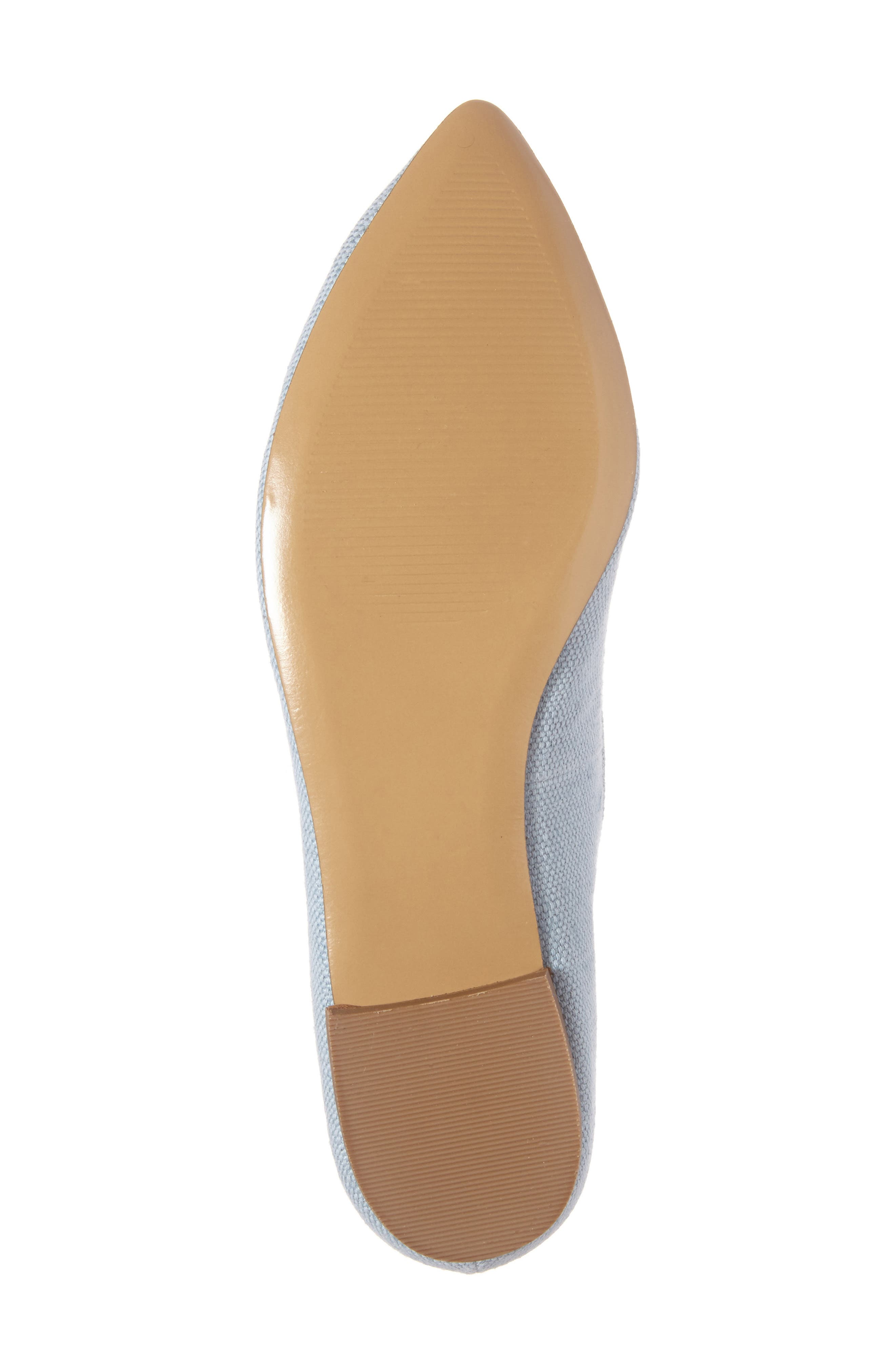 Alternate Image 6  - Sole Society 'Libry' Embellished Pointy Toe Flat (Women)