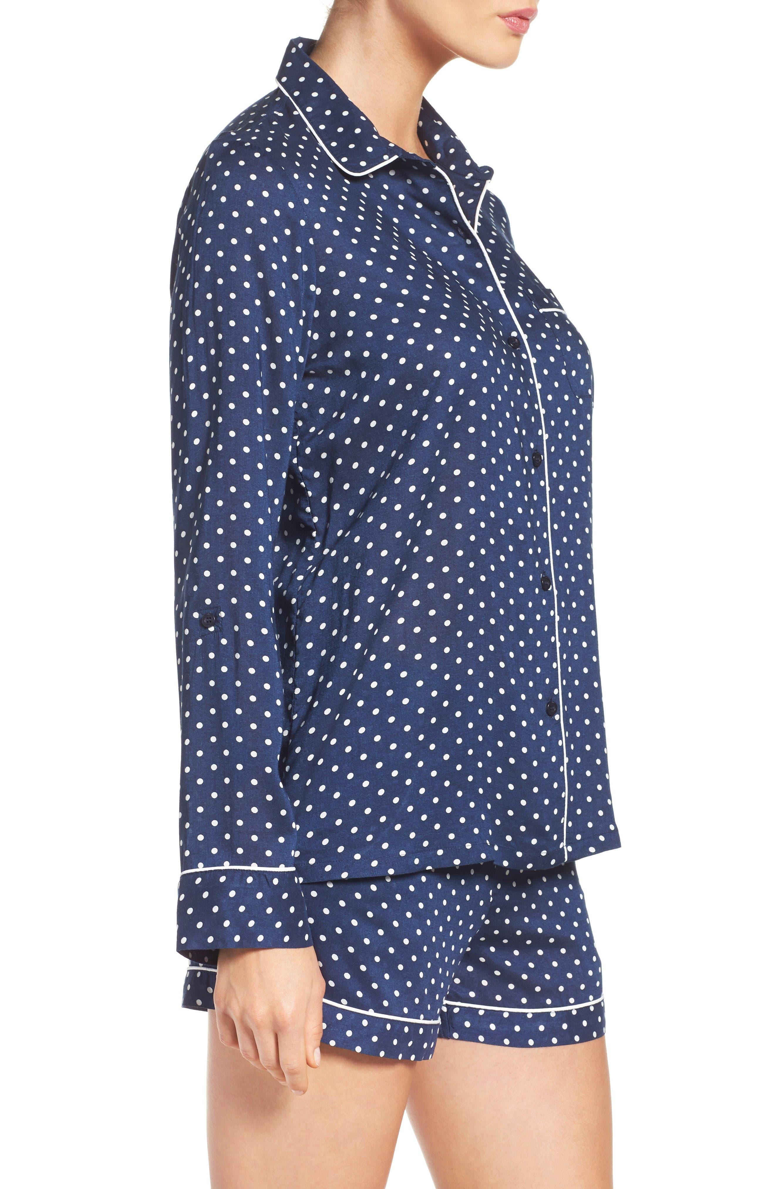 Alternate Image 3  - Nordstrom Lingerie Woven Short Pajamas