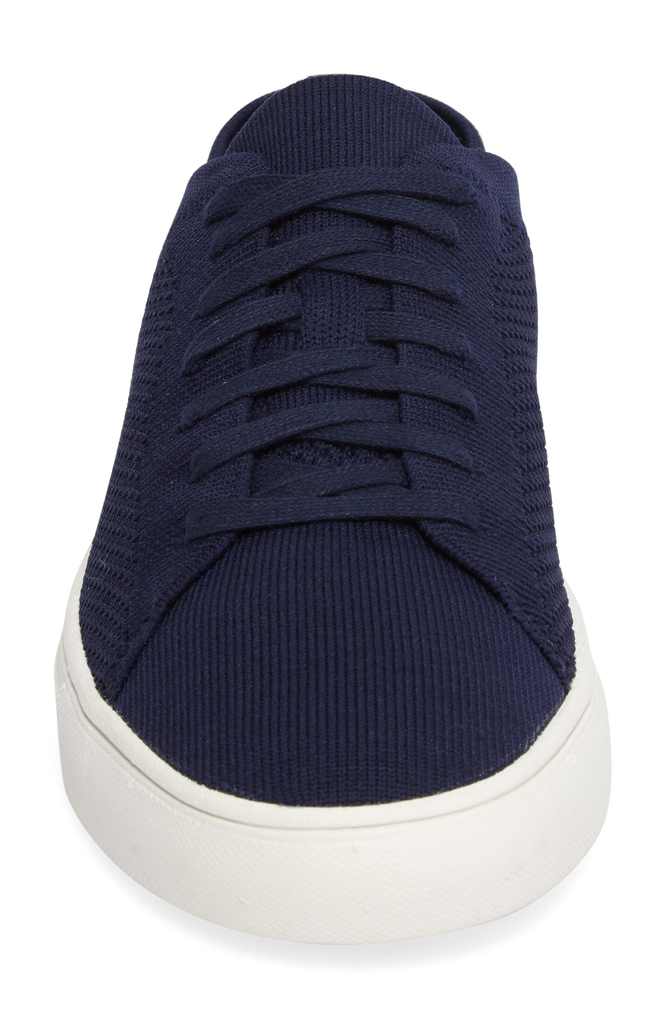 On the Road Woven Sneaker,                             Alternate thumbnail 4, color,                             Navy