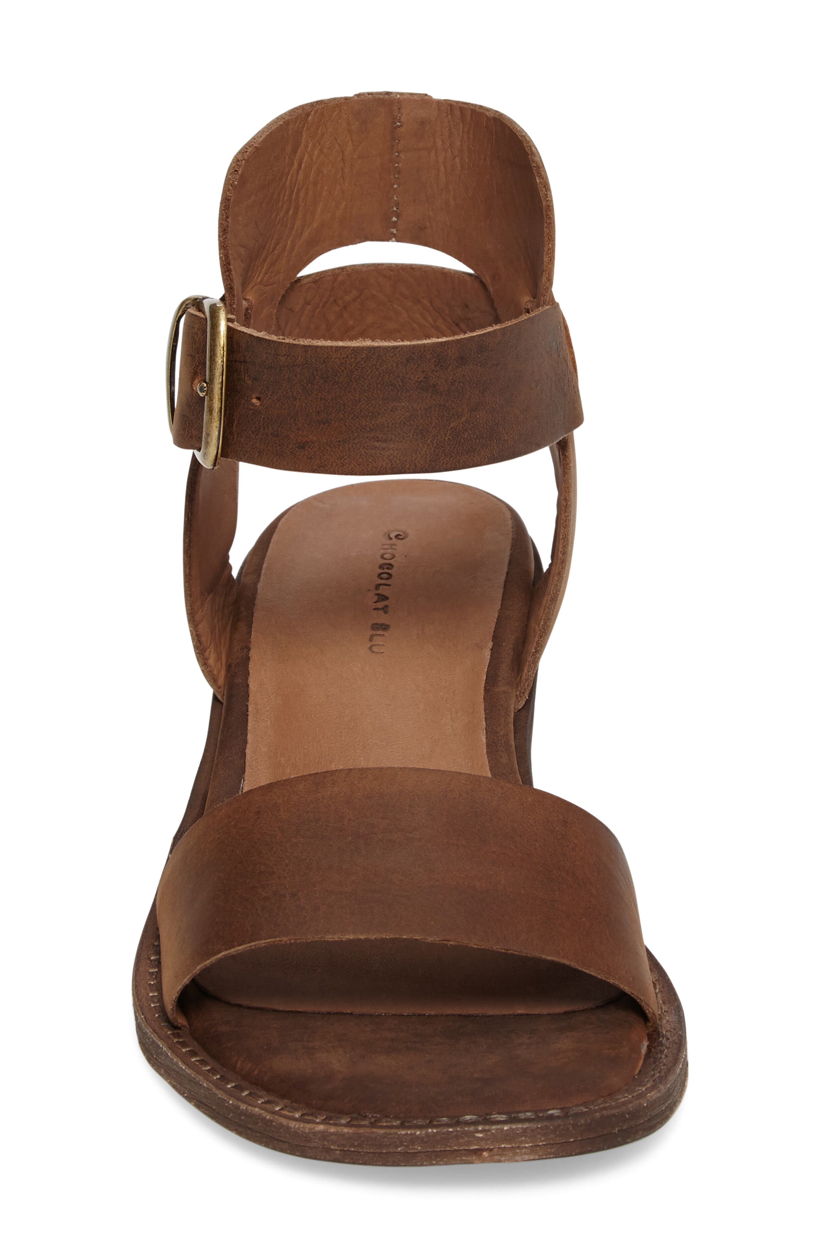 Alternate Image 4  - Chocolat Blu Arcadia Block Heel Sandal (Women)