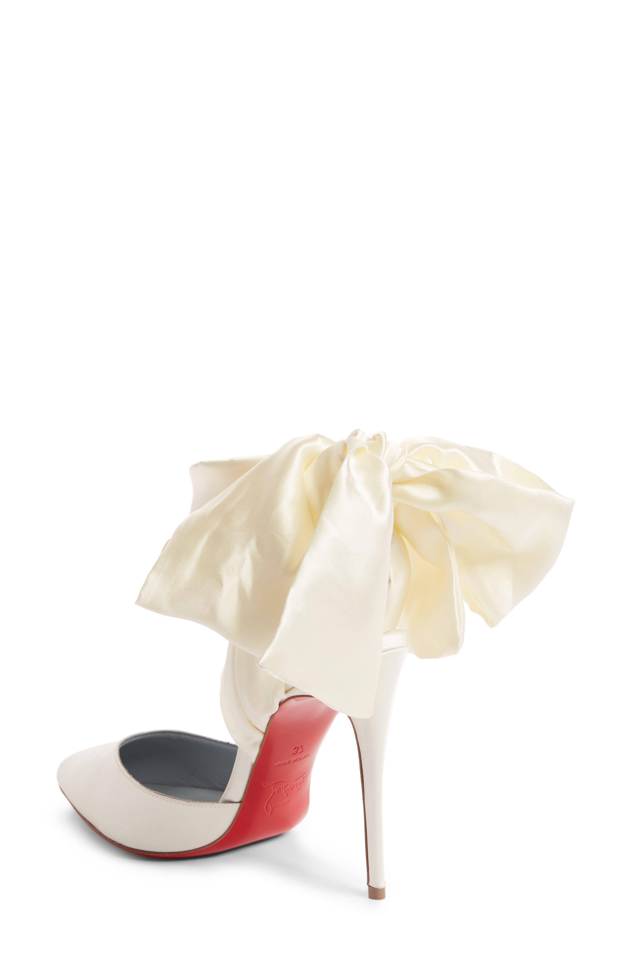 Alternate Image 2  - Christian Louboutin Douce Du Desert Ankle Tie Pump (Women)