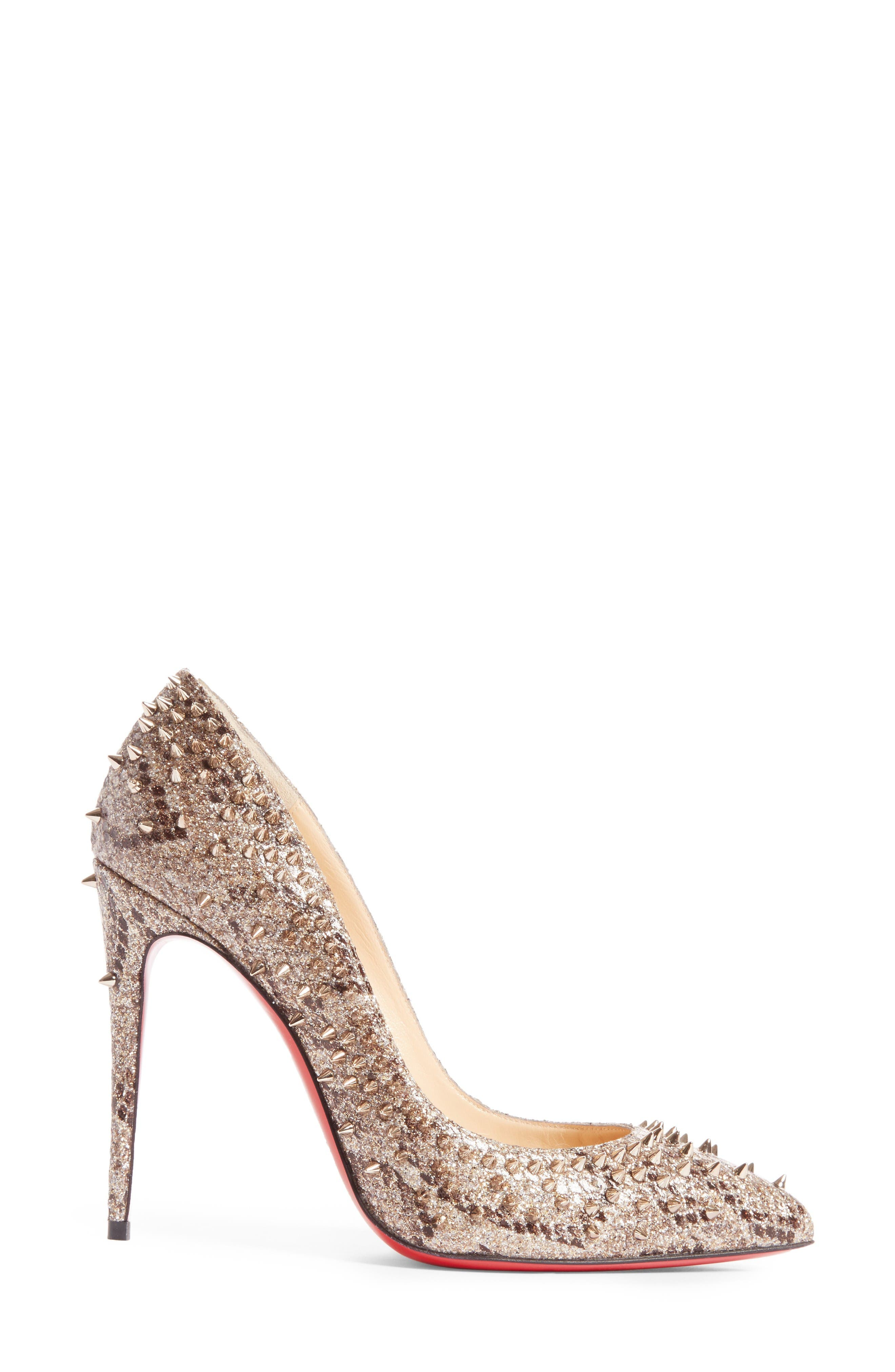 Alternate Image 4  - Christian Louboutin Escarpic Spike Pump (Women)
