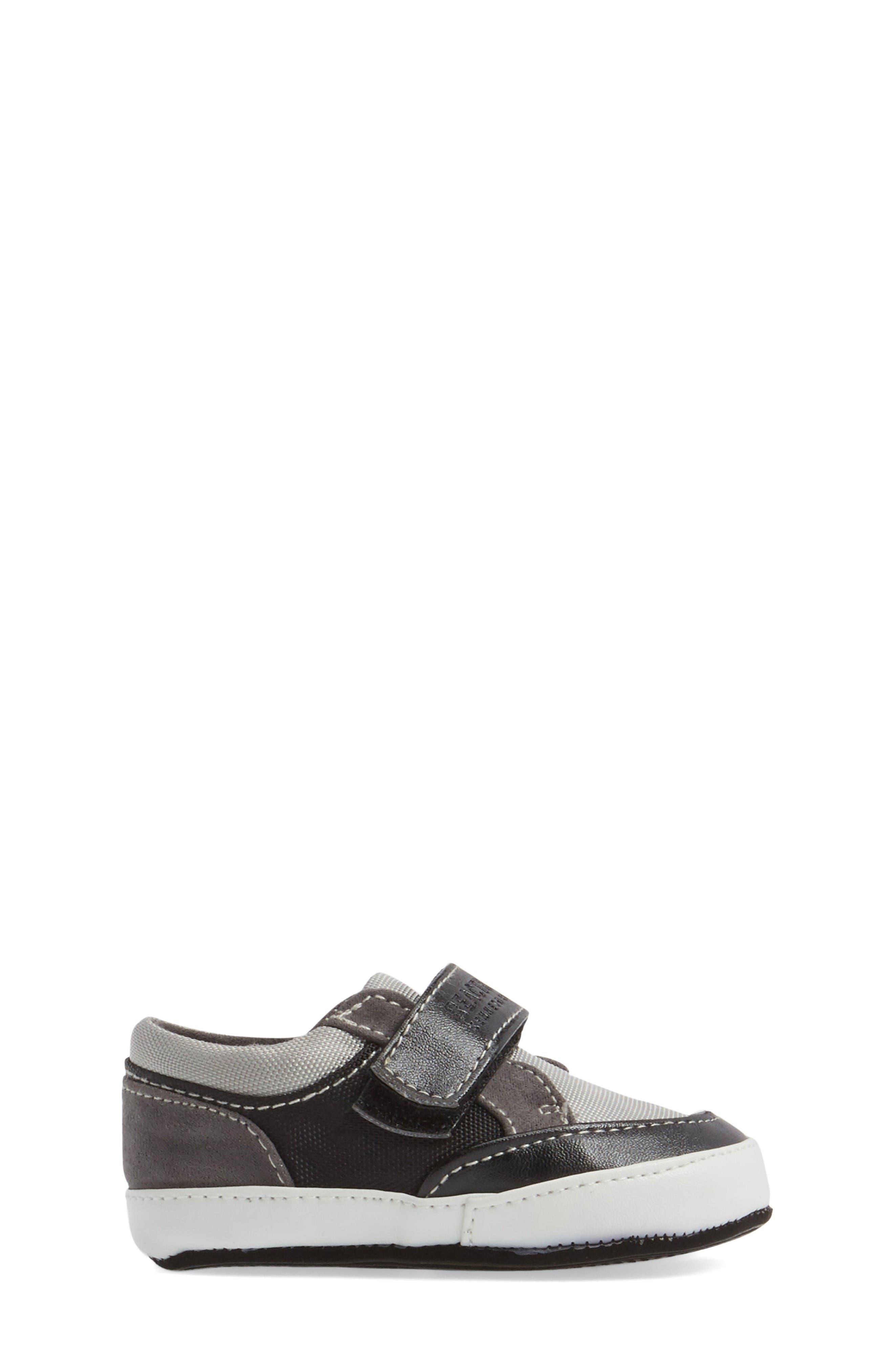 Danny Sneaker,                             Alternate thumbnail 3, color,                             Black/ Grey