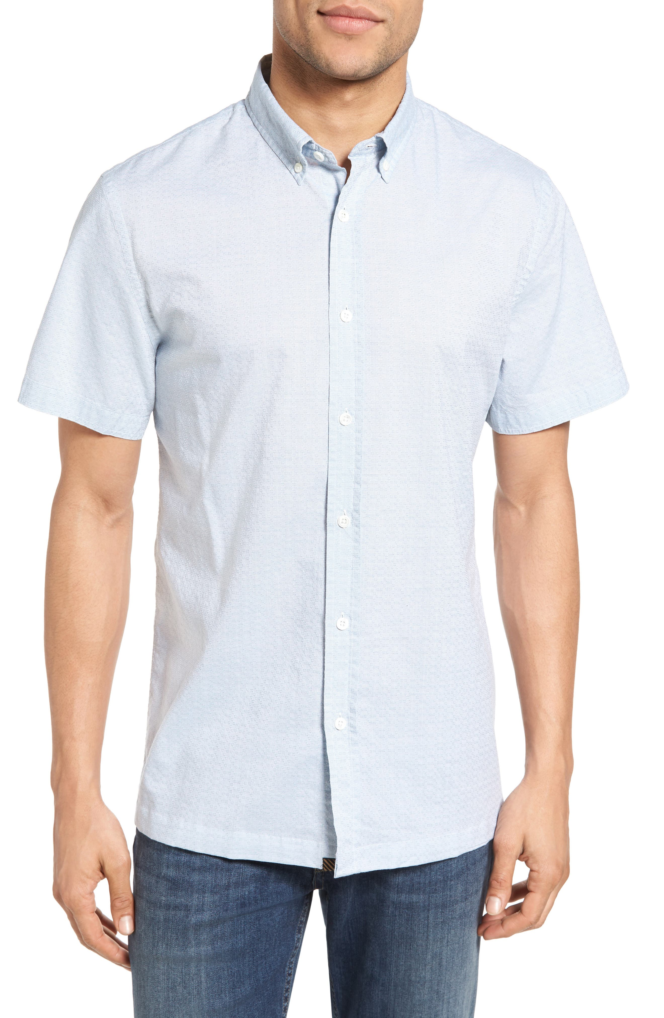 BILLY REID Murphy Standard Fit Short Sleeve Sport Shirt
