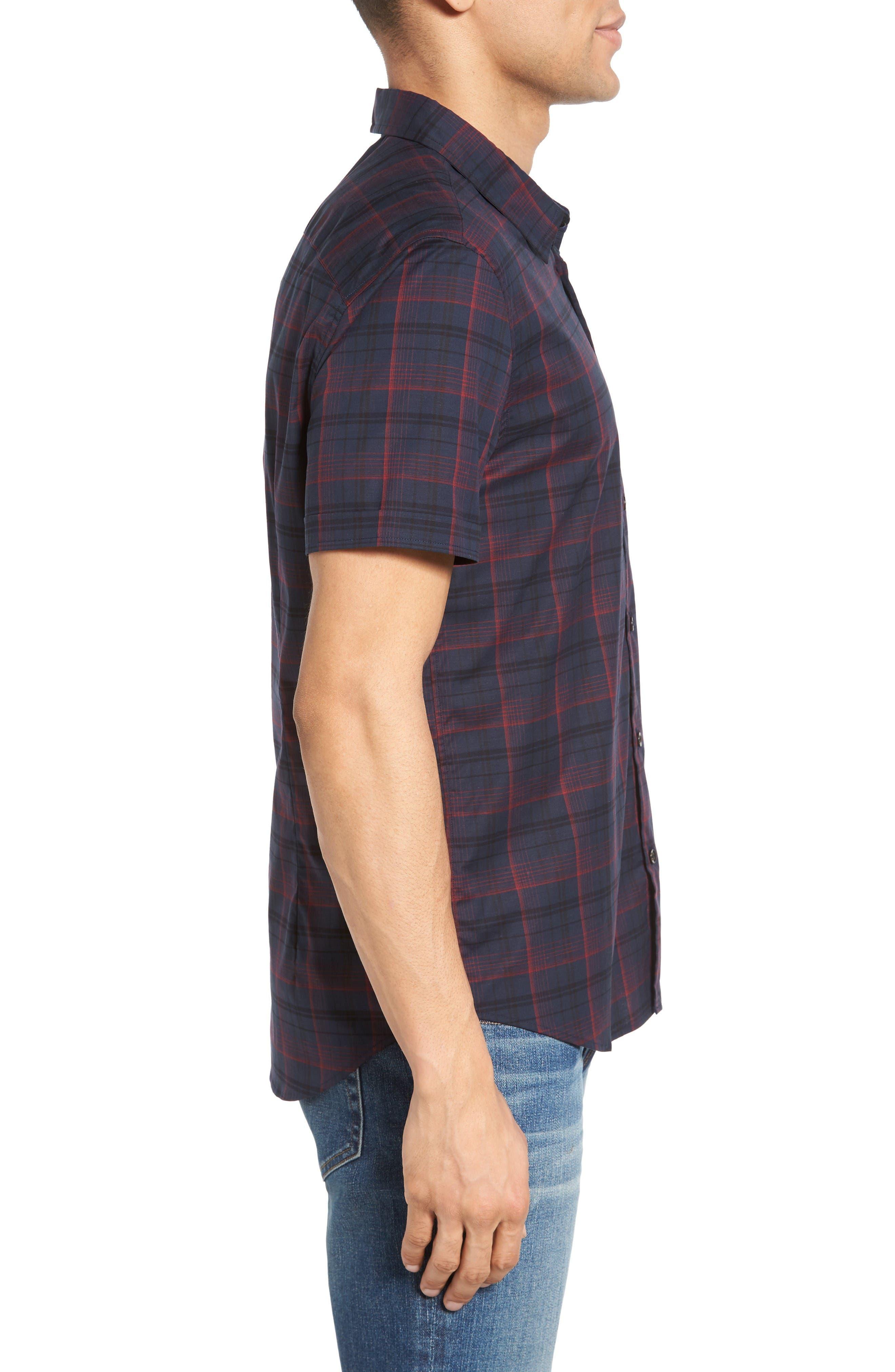 Alternate Image 3  - John Varvatos Star USA Cotton Sport Shirt