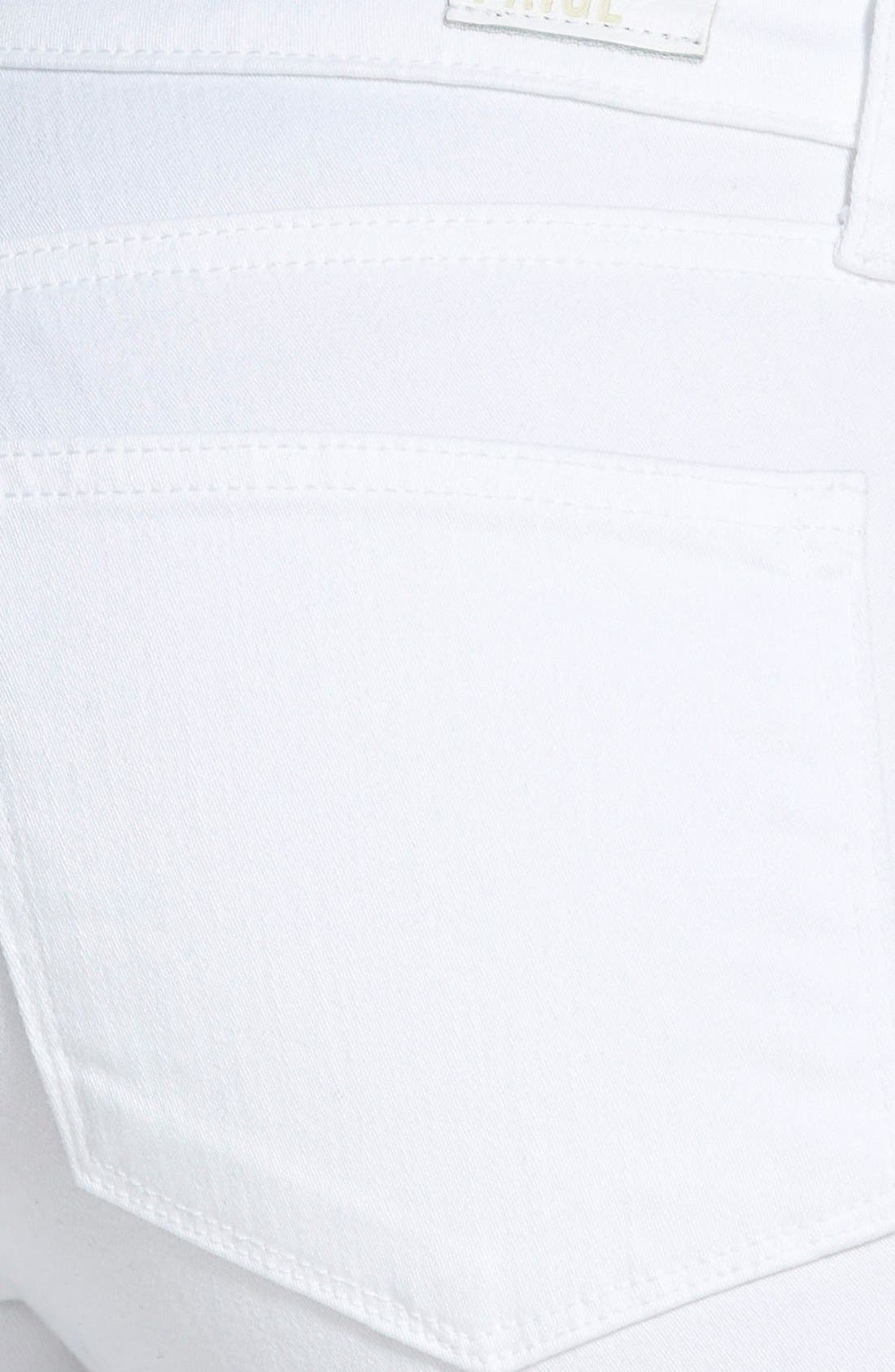 Alternate Image 3  - PAIGE 'Verdugo' Crop Skinny Jeans (Ultra White)
